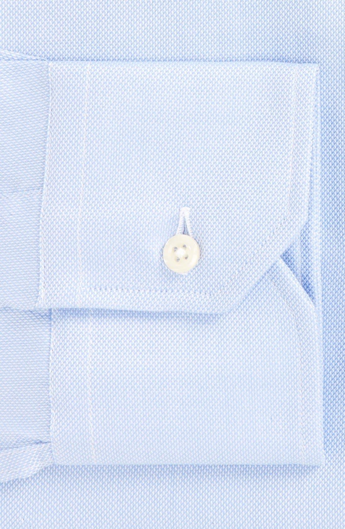 Royal Oxford Tailored Fit Dress Shirt,                             Alternate thumbnail 2, color,                             BLUE