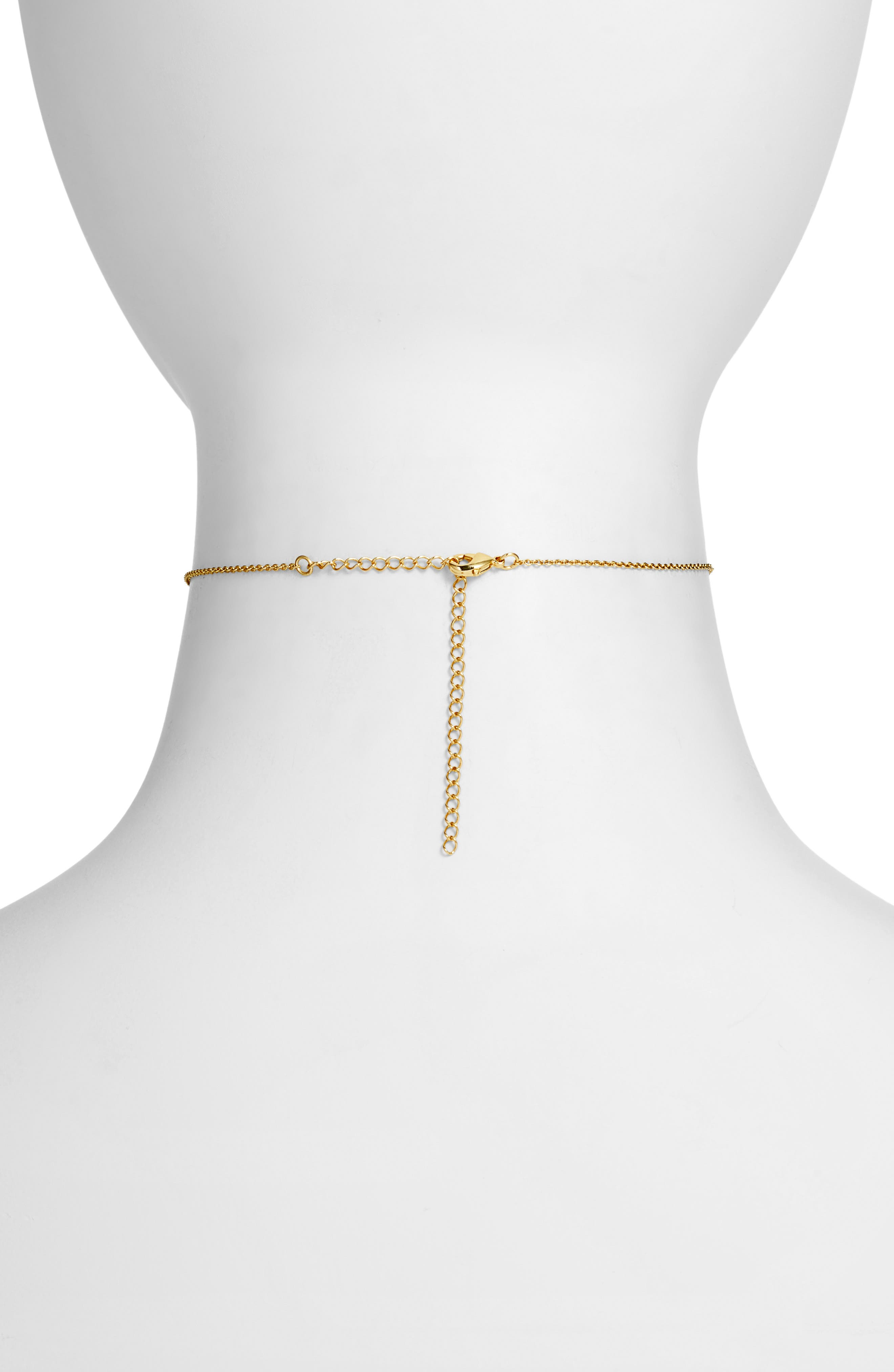 FIVE AND TWO,                             Sofia Choker Necklace,                             Alternate thumbnail 2, color,                             710