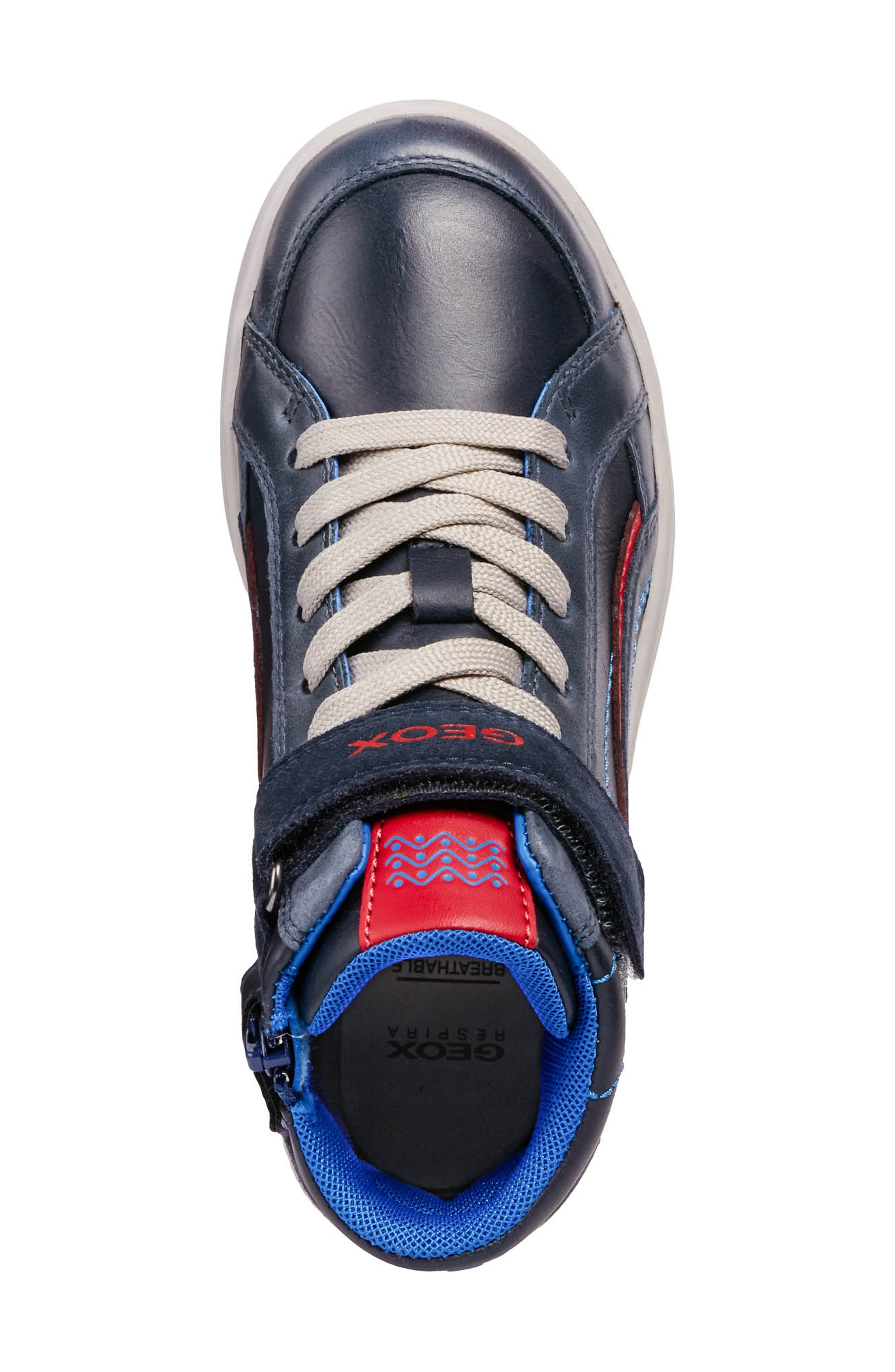 GEOX,                             Garcia Mid Sneaker,                             Alternate thumbnail 5, color,                             401