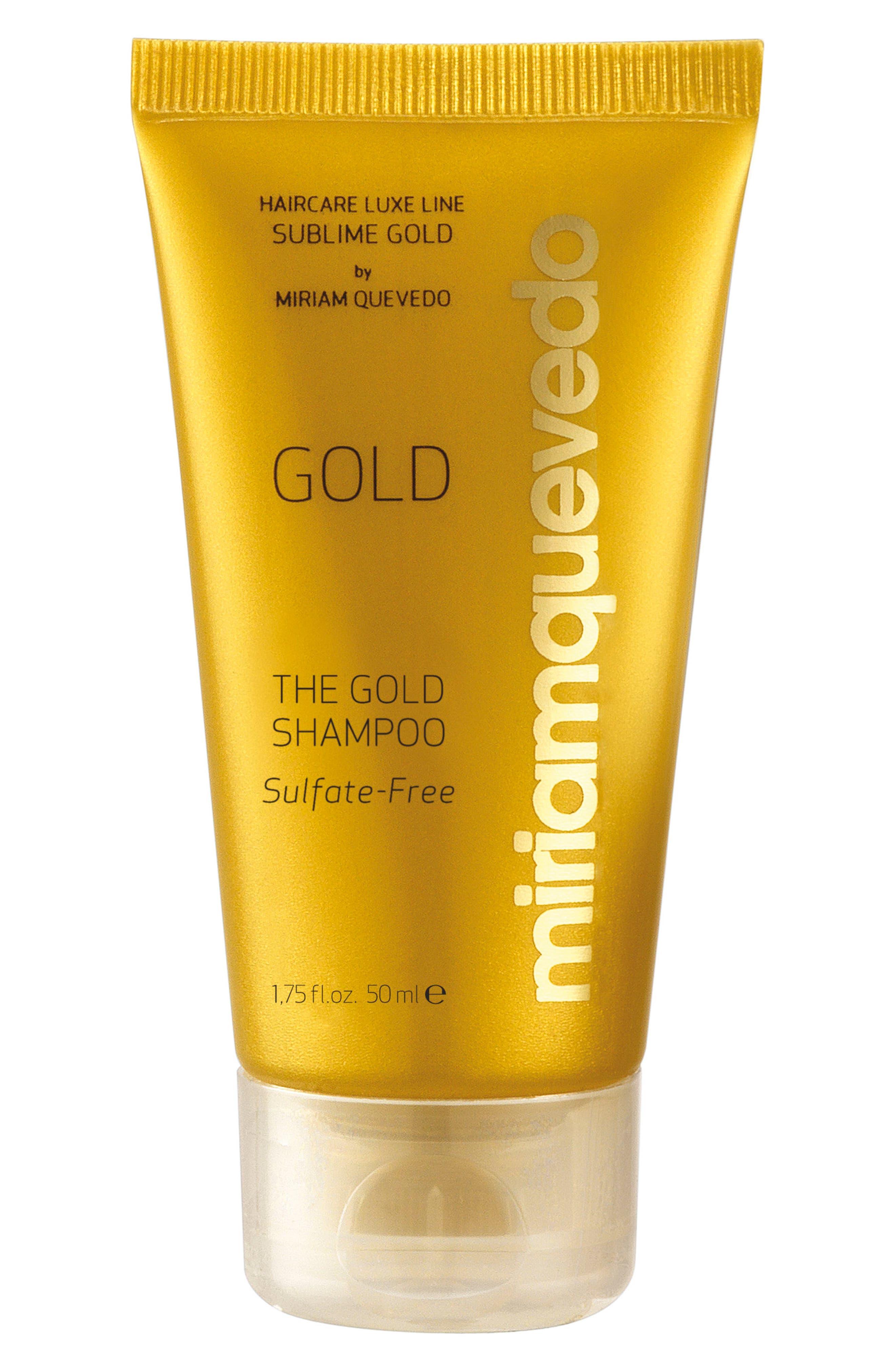 SPACE.NK.apothecary Miriam Quevedo Sublime Gold Shampoo,                             Alternate thumbnail 2, color,