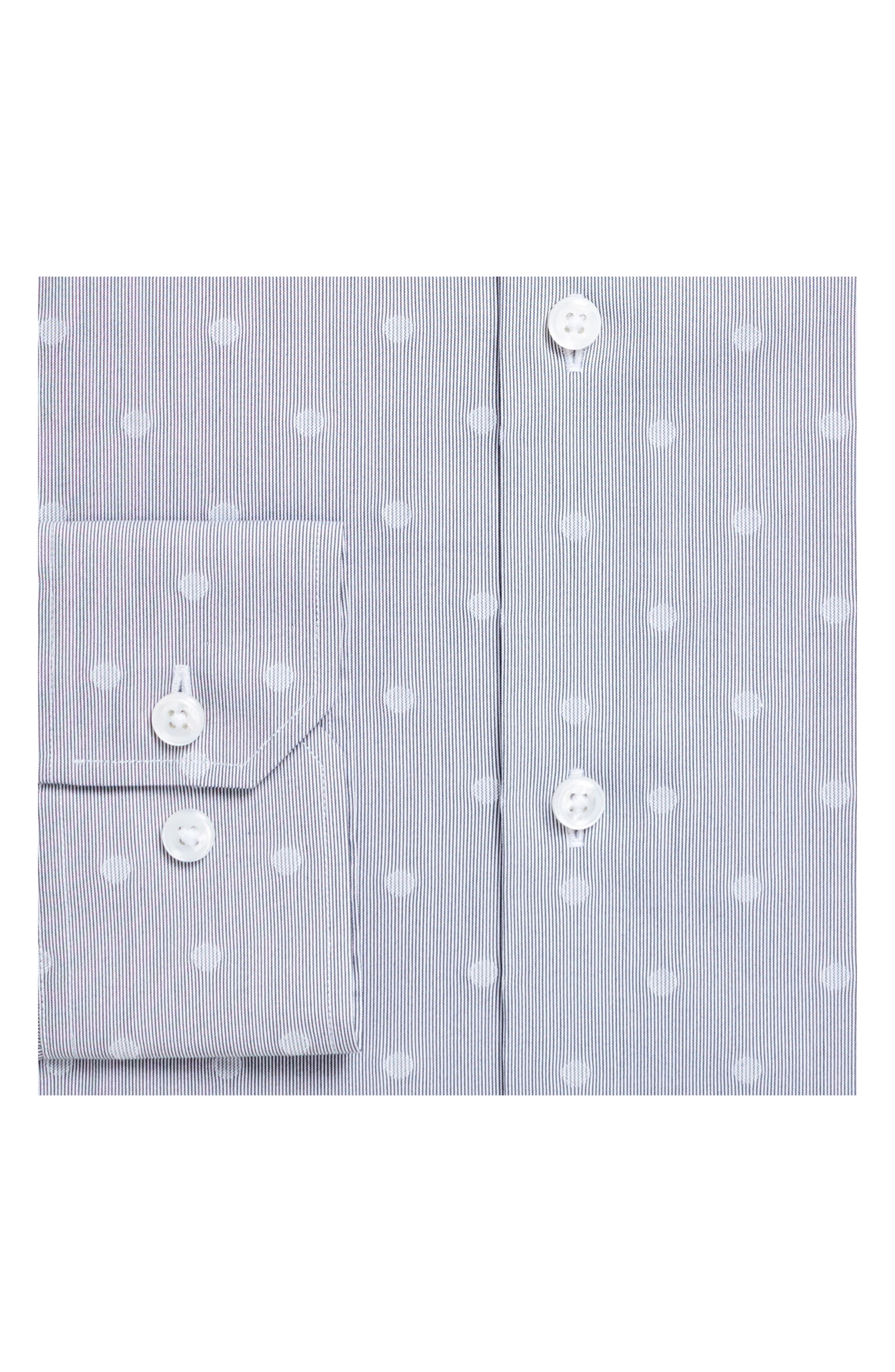Slim Fit Dot Dress Shirt,                             Alternate thumbnail 2, color,                             020