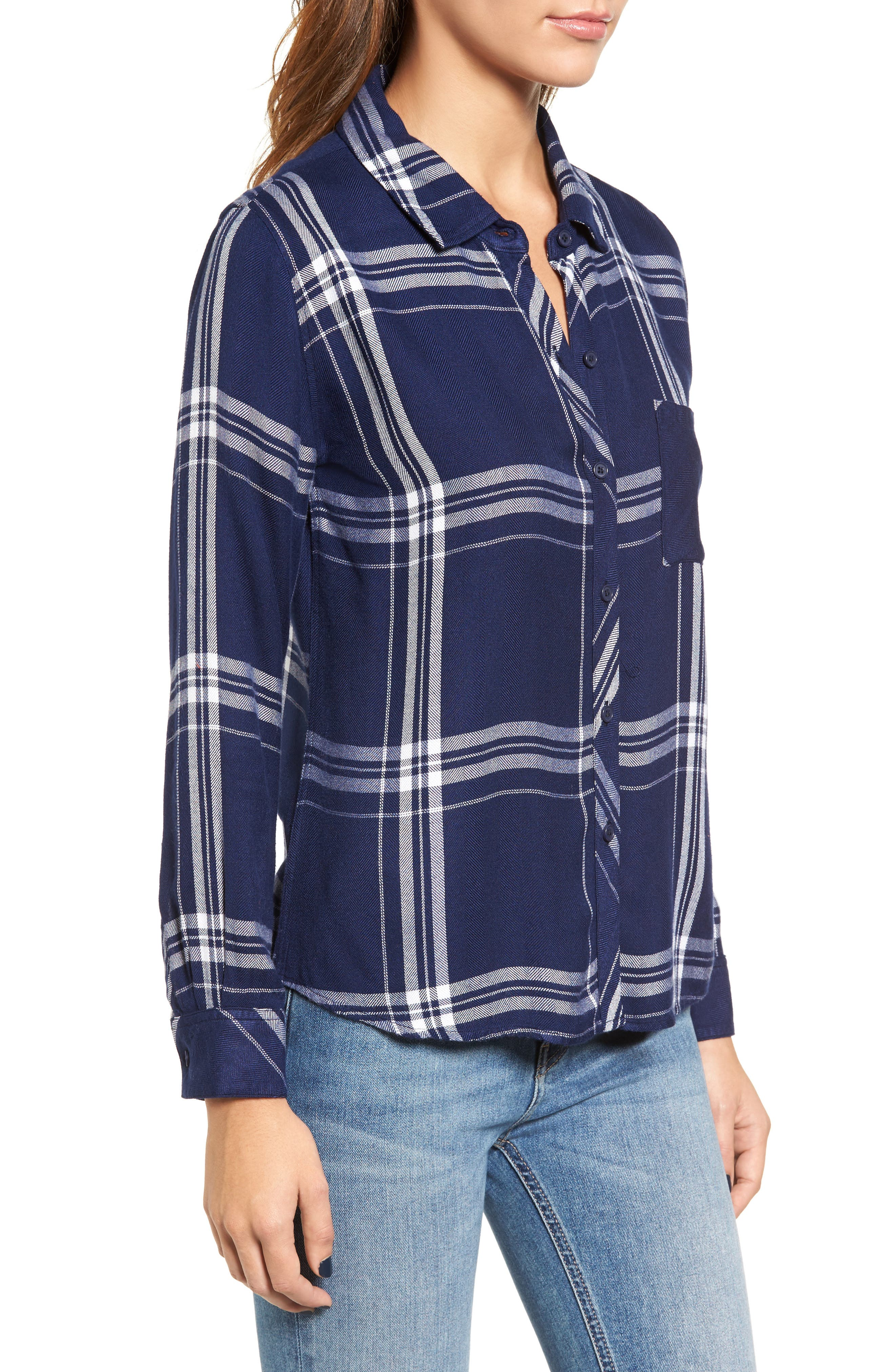 Hunter Plaid Shirt,                             Alternate thumbnail 387, color,