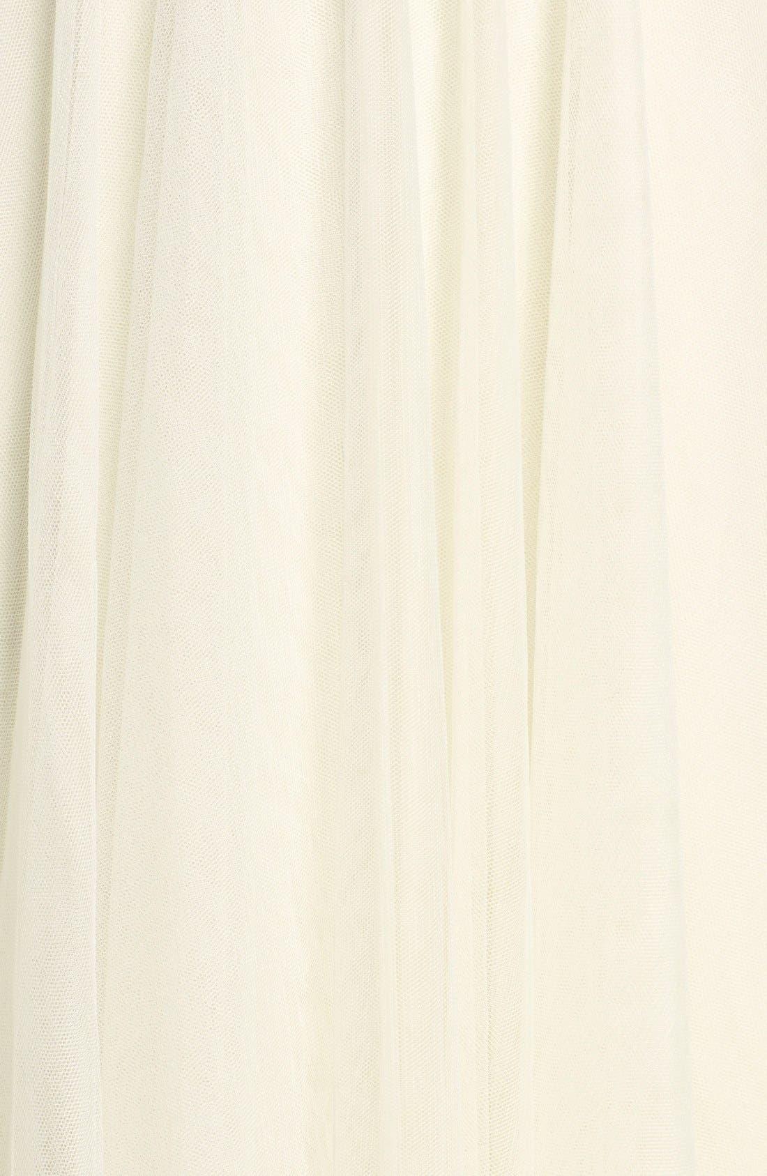 Winslow Long Tulle A-Line Skirt,                             Alternate thumbnail 6, color,                             104