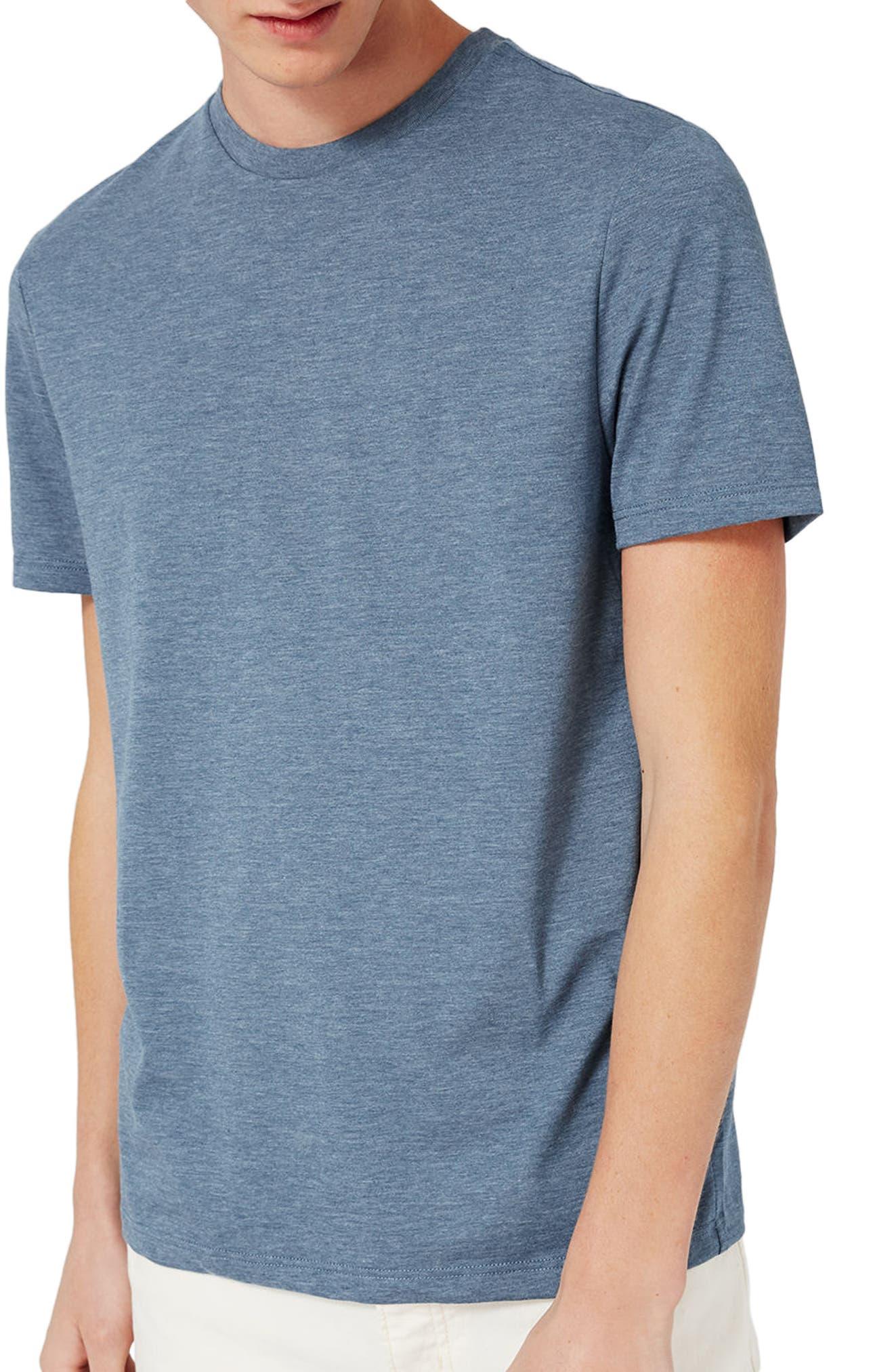 Slim Fit Crewneck T-Shirt,                             Alternate thumbnail 203, color,