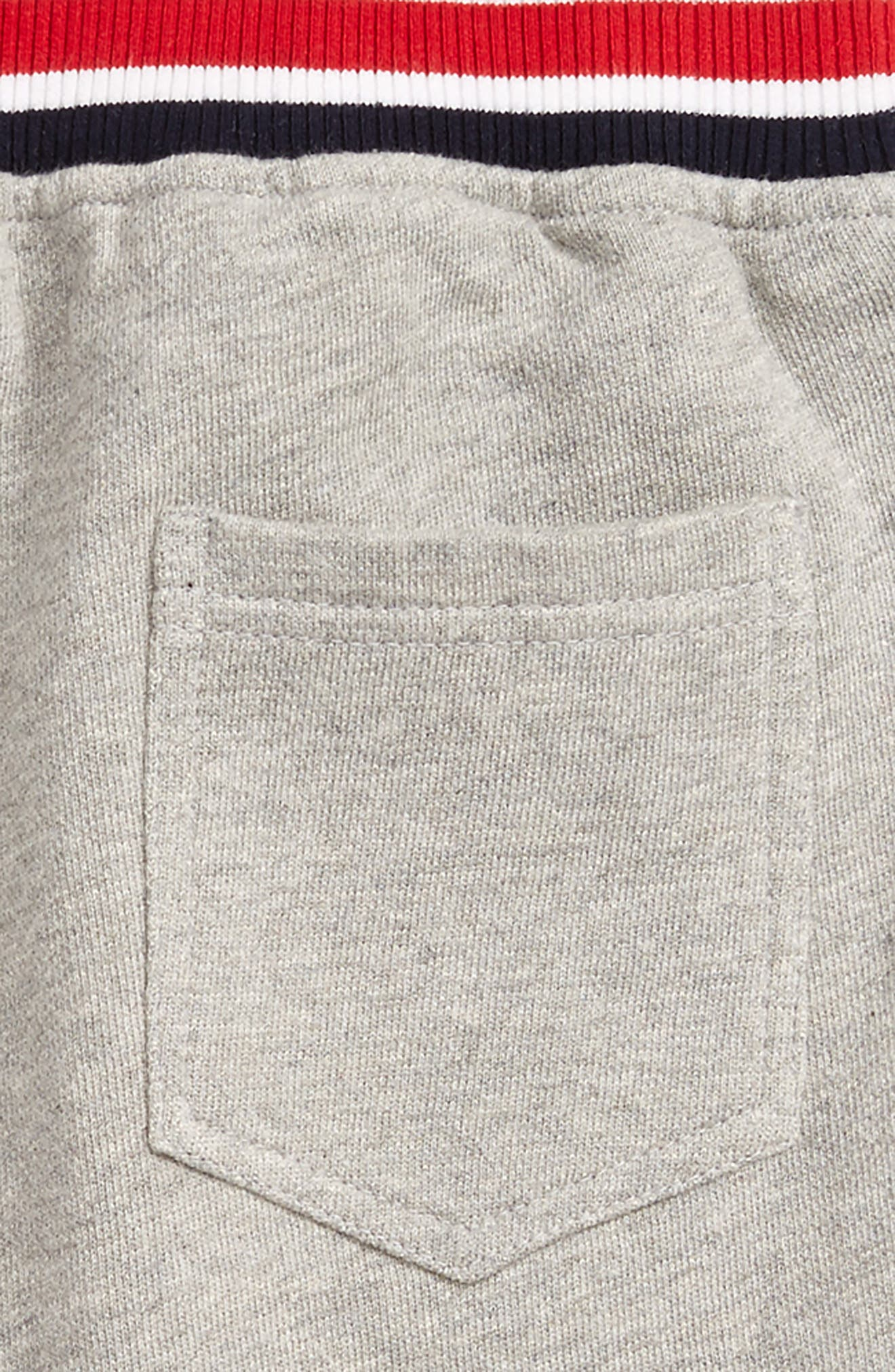 Varsity Knit Shorts,                             Alternate thumbnail 3, color,                             020