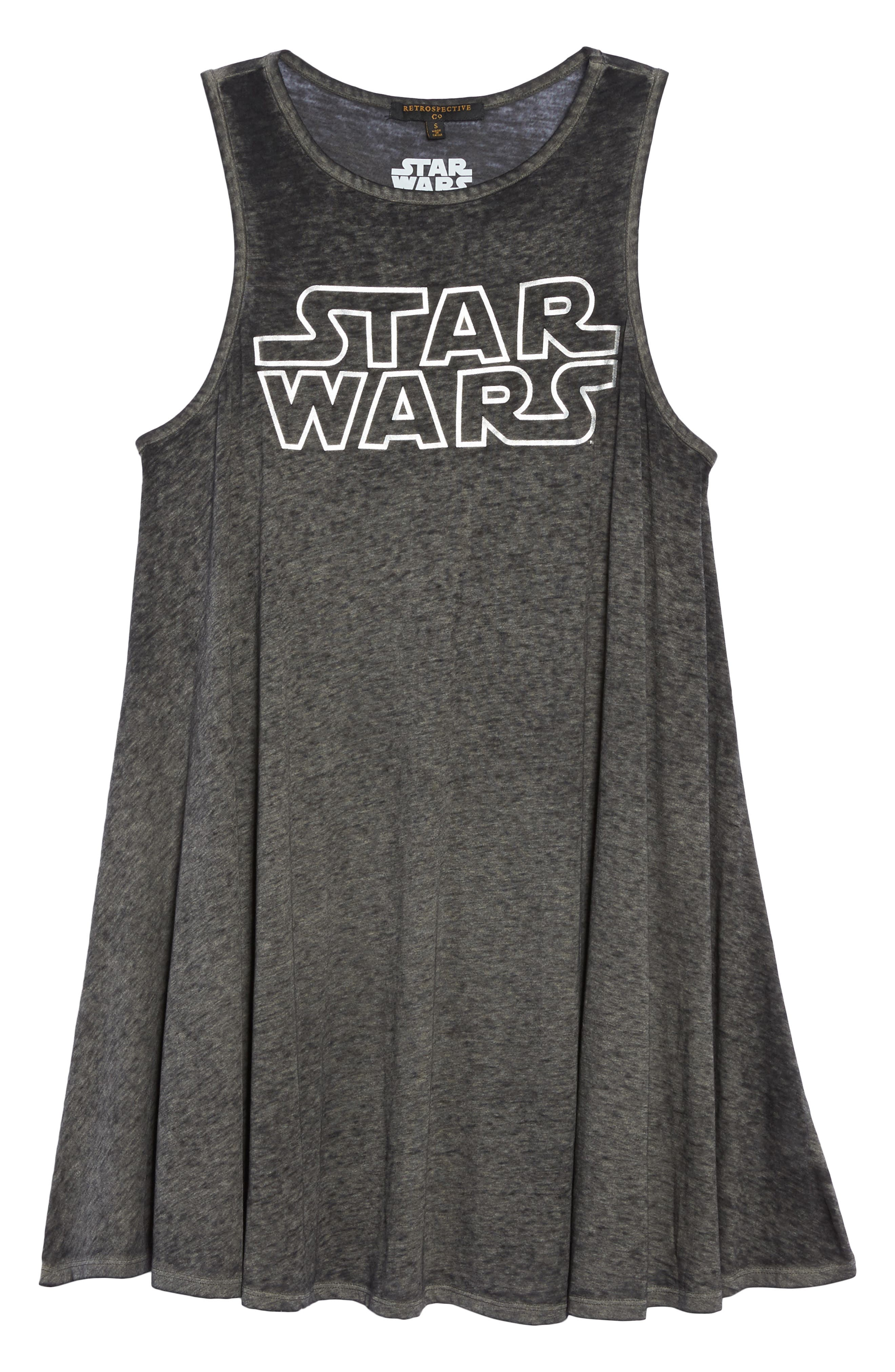 Star Wars<sup>™</sup> Graphic Short Nightgown,                             Alternate thumbnail 6, color,