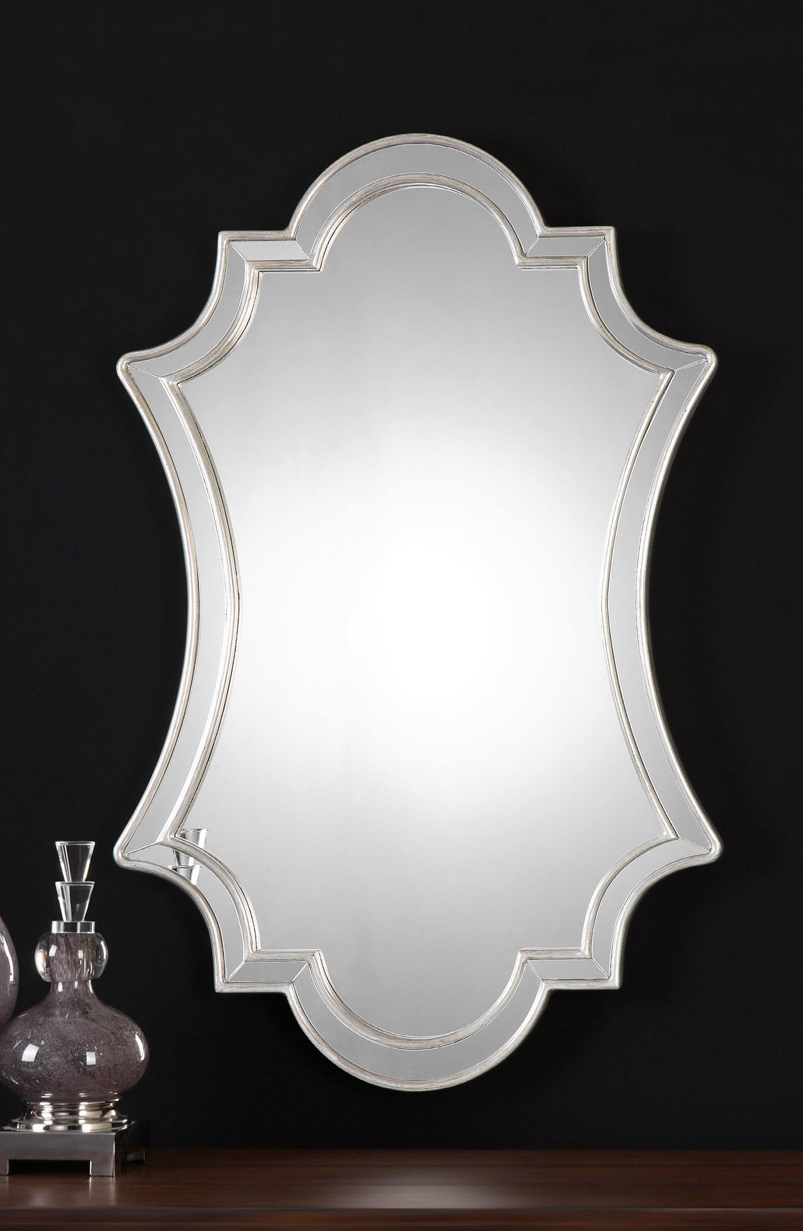 Elara Wall Mirror,                             Alternate thumbnail 2, color,                             020