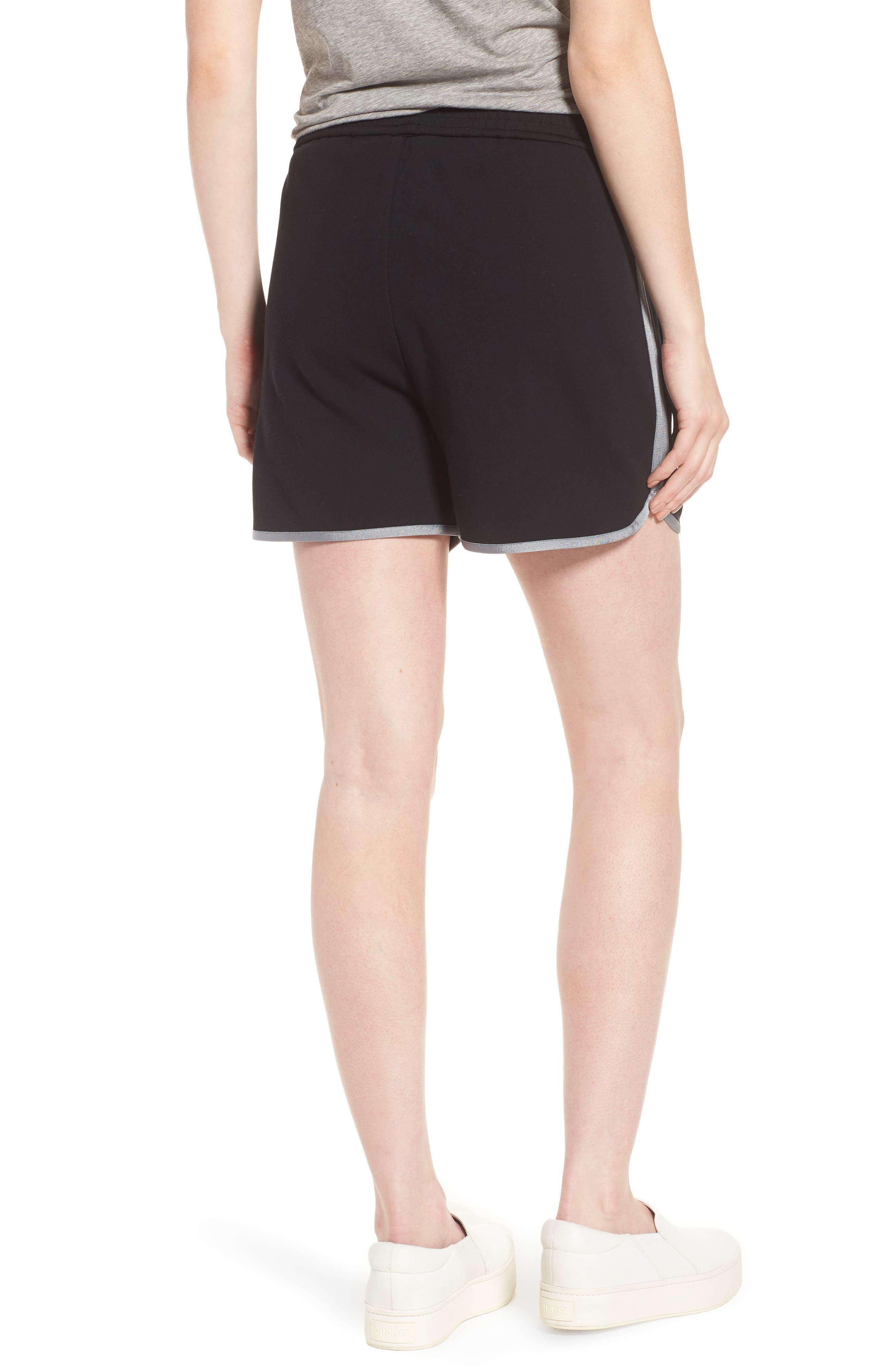 Gym Shorts,                             Alternate thumbnail 2, color,                             BLACK