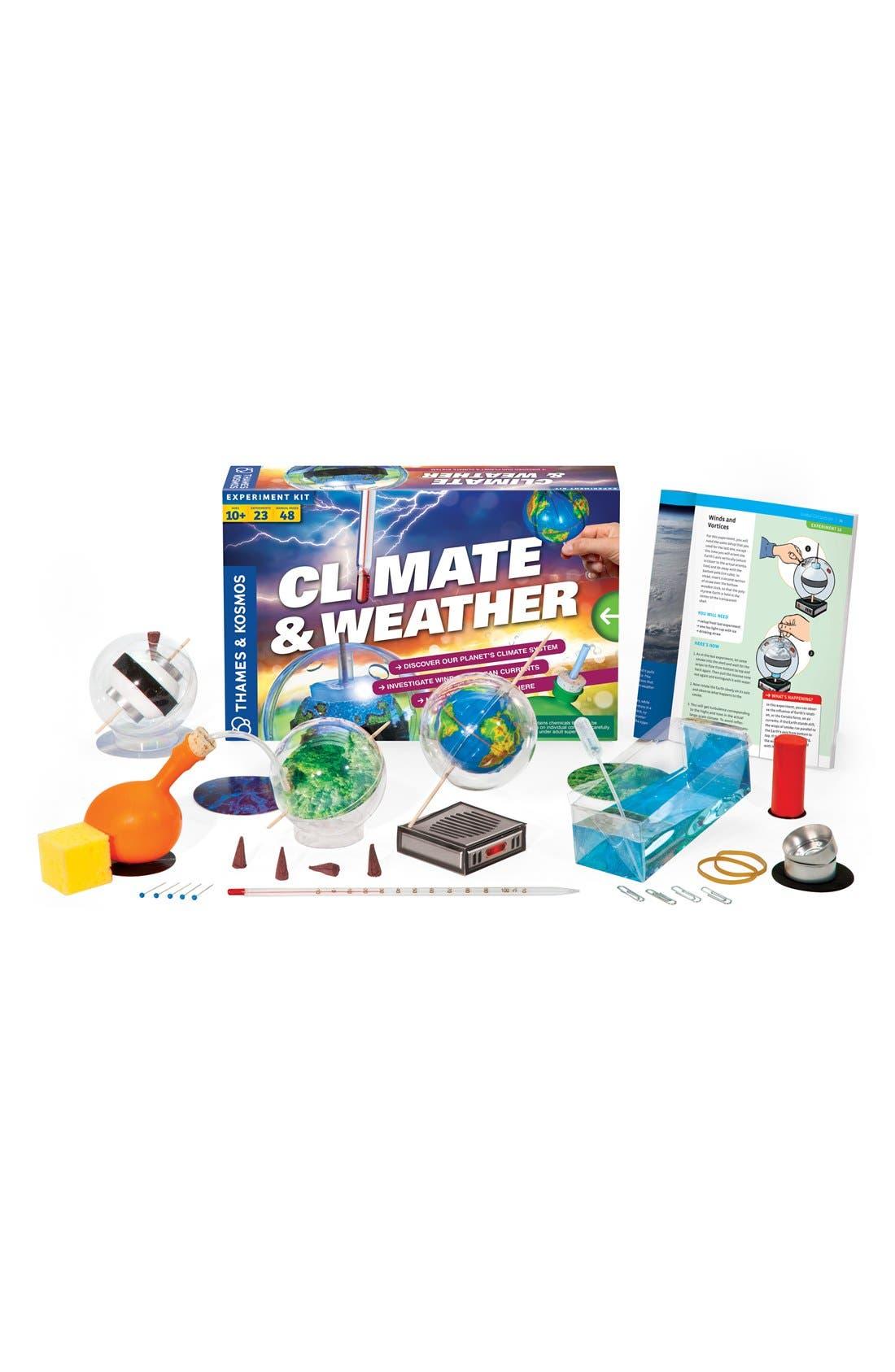 THAMES & KOSMOS,                             'Climate & Weather' Experiment Kit,                             Main thumbnail 1, color,                             000