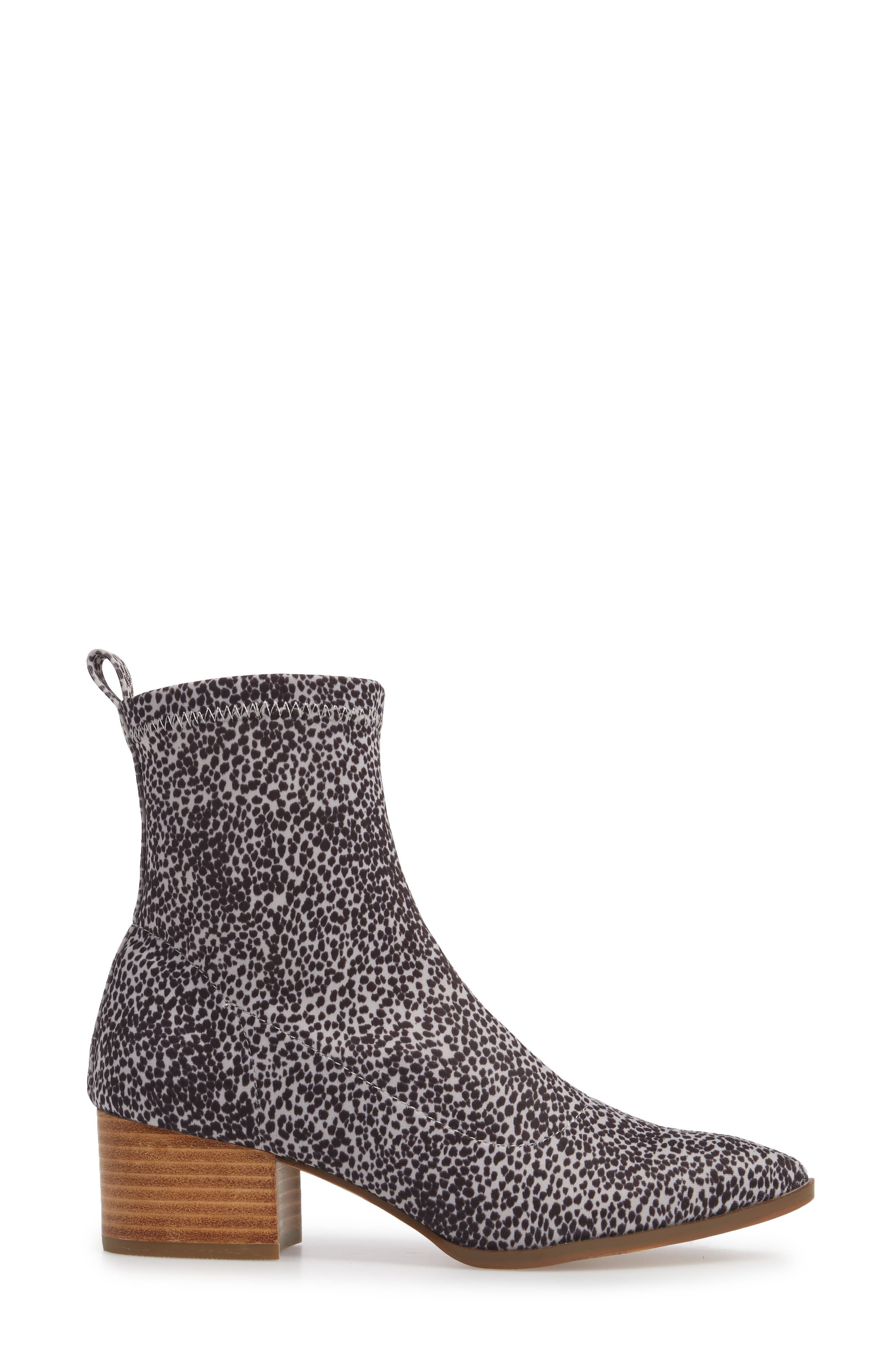 Amuse Society x Matisse Liliana Sock Bootie,                             Alternate thumbnail 3, color,                             111