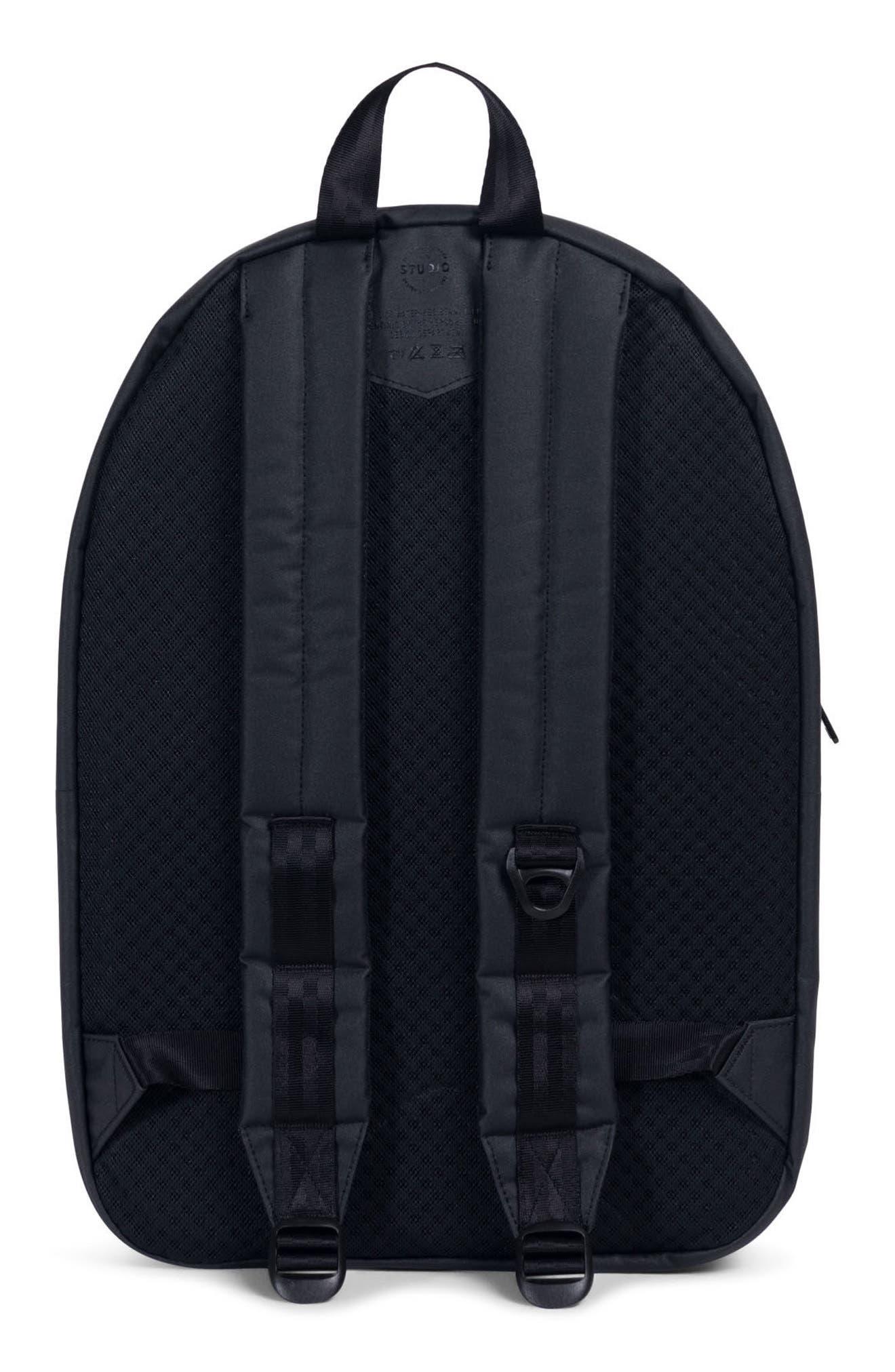 Settlement Studio Backpack,                             Alternate thumbnail 2, color,                             BLACK