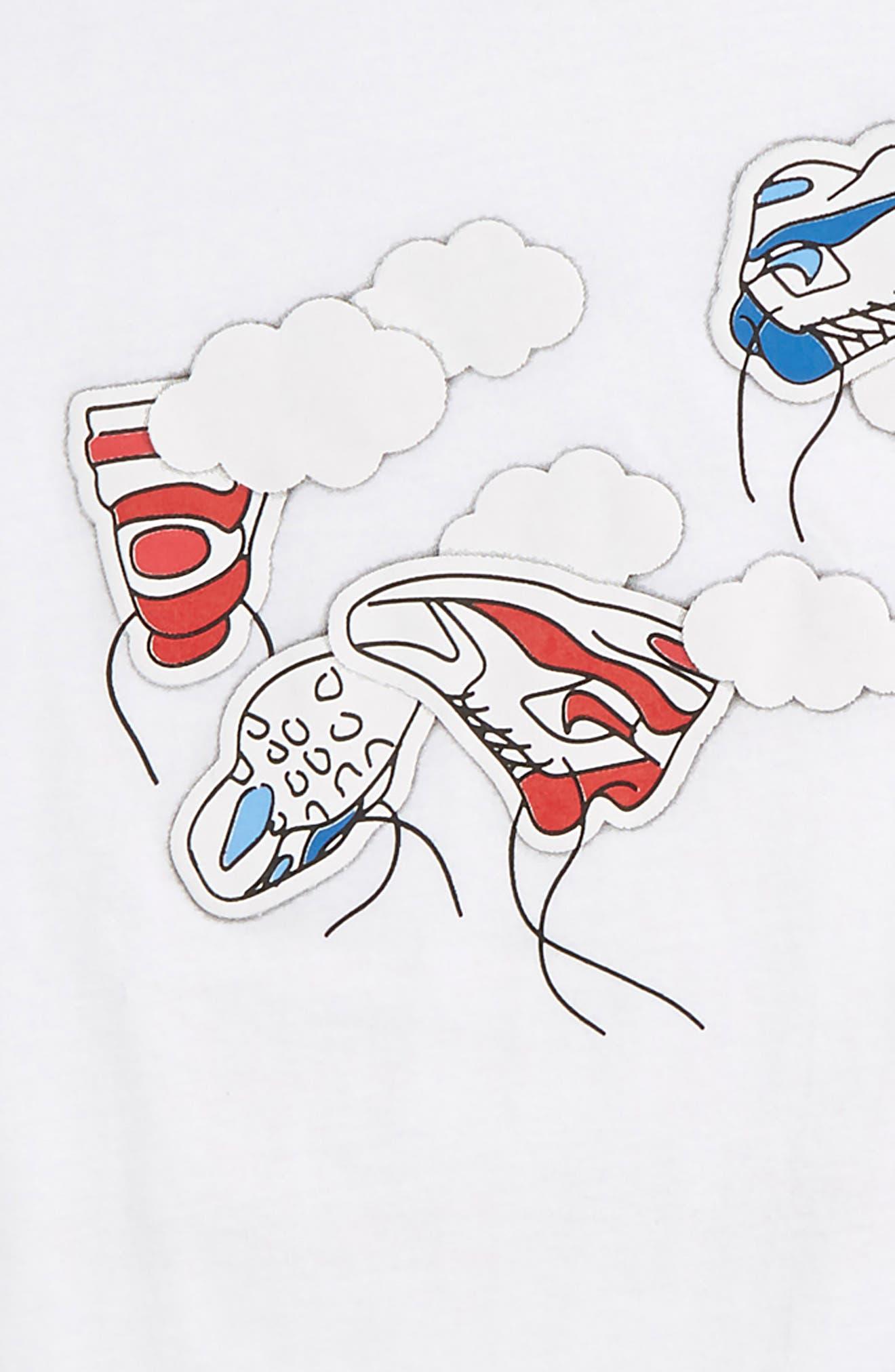 Sportswear Floating Airmax T-Shirt,                             Alternate thumbnail 4, color,