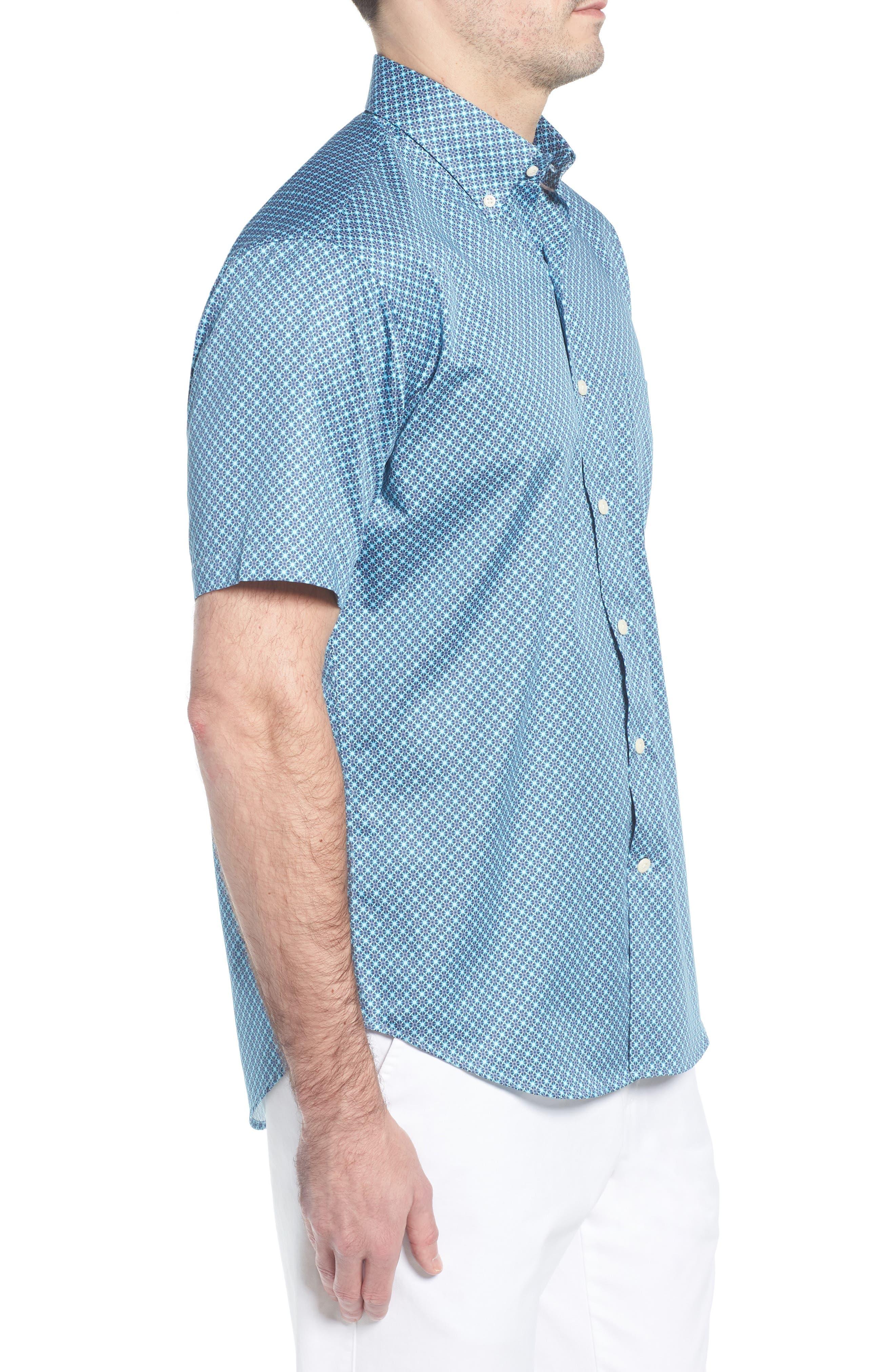 Get Kracken Sport Shirt,                             Alternate thumbnail 3, color,                             424