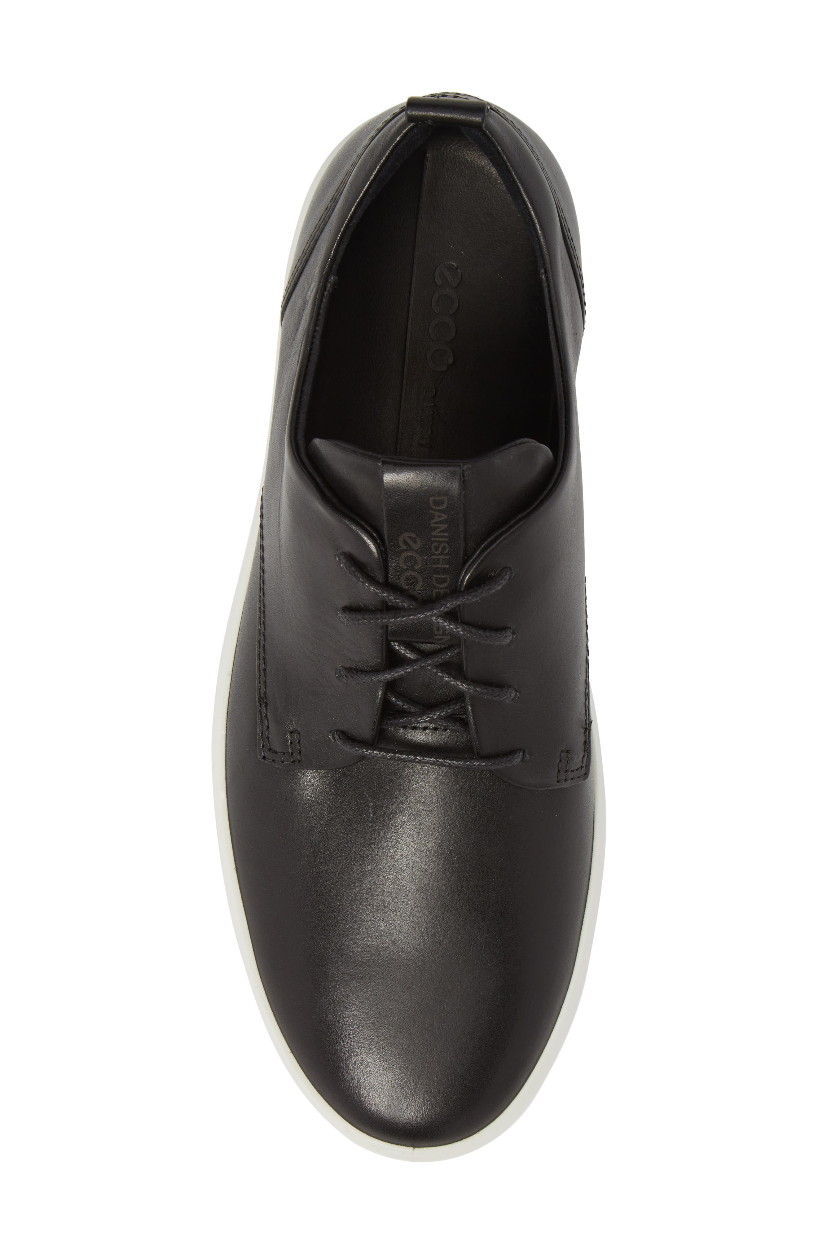 ECCO,                             Soft 8 Street Sneaker,                             Alternate thumbnail 5, color,                             009
