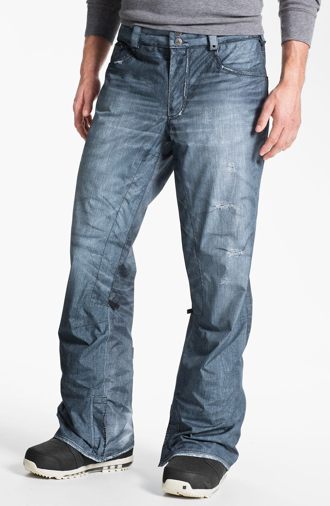 'The Jeans' Snowboard Pants, Main, color, 400
