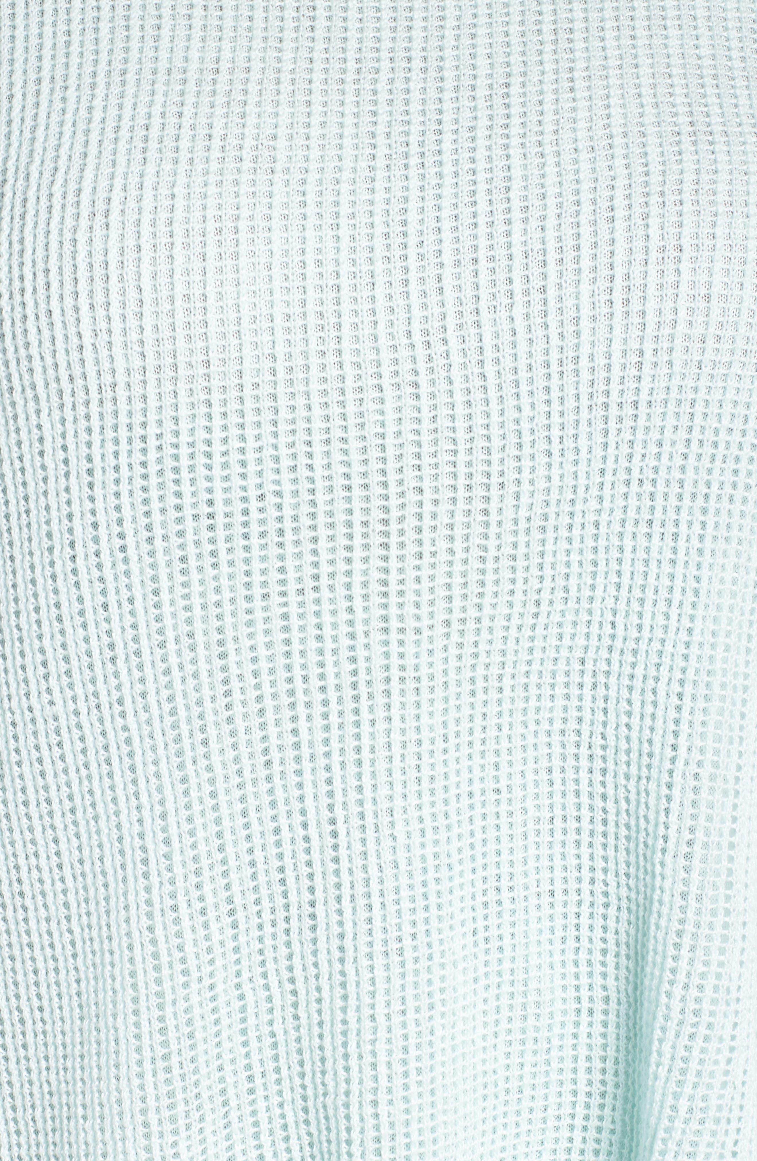 Layered Organic Linen Tunic Sweater,                             Alternate thumbnail 15, color,