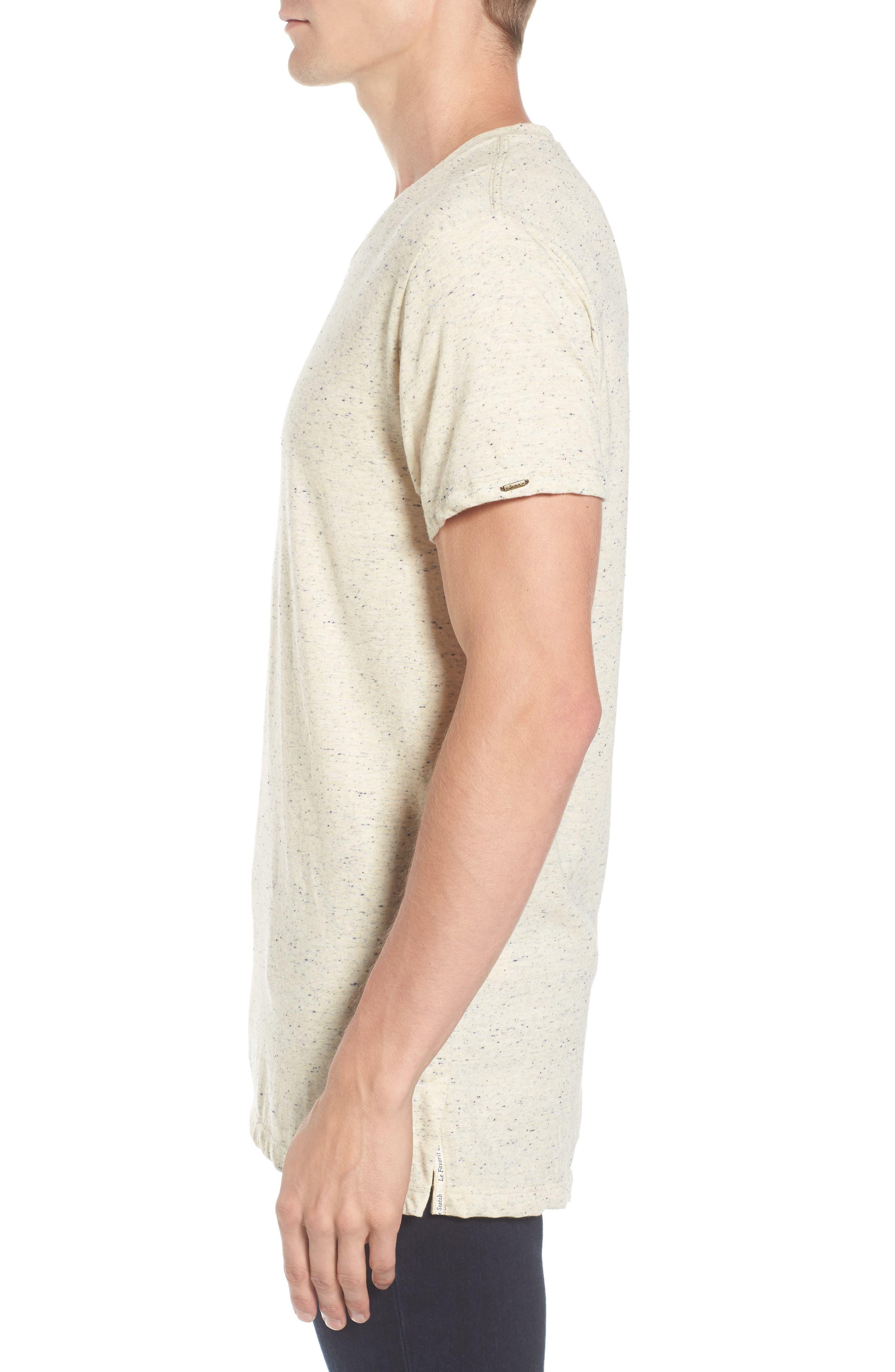 Mélange Jersey T-Shirt,                             Alternate thumbnail 8, color,