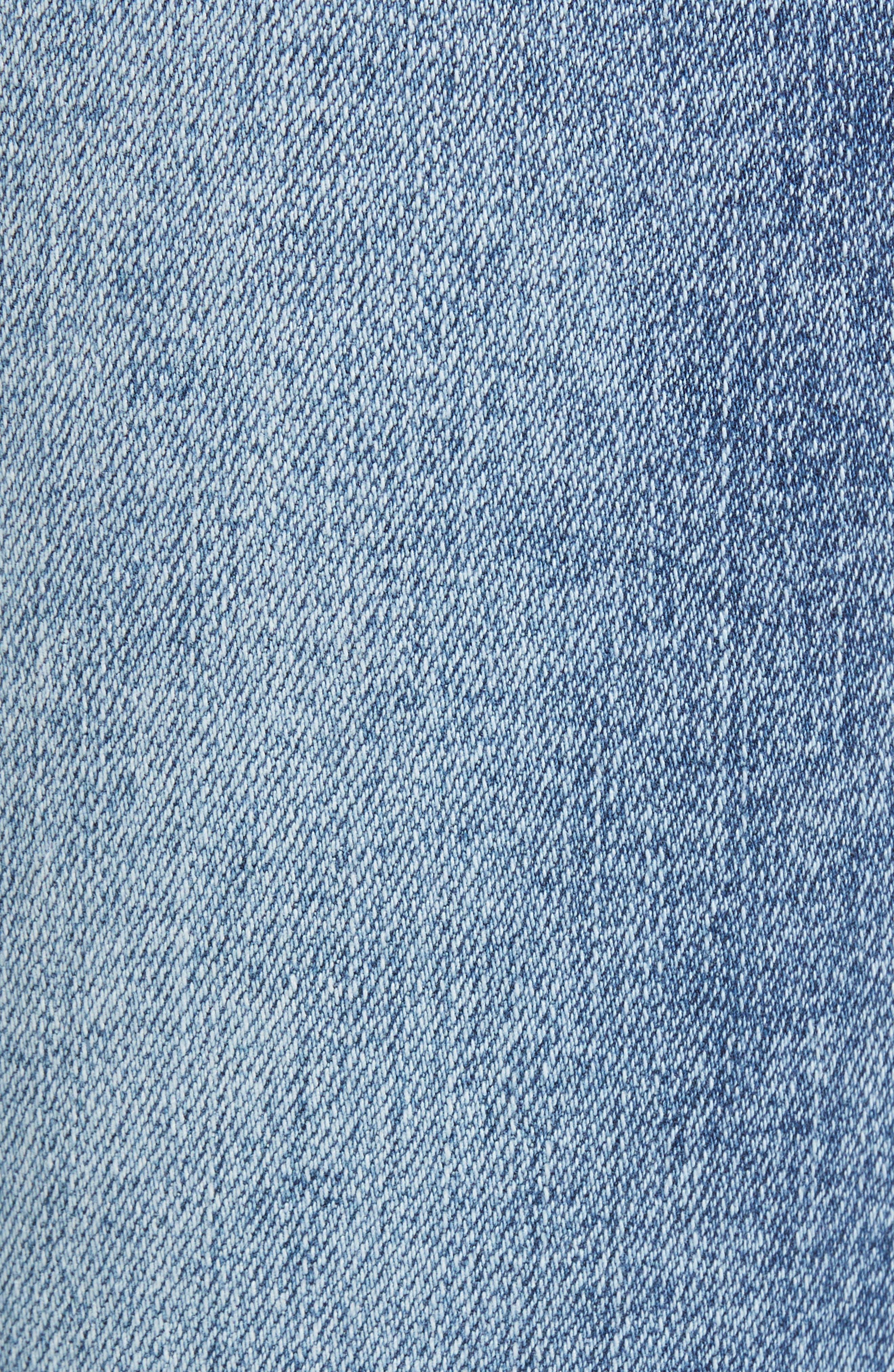 The Reade Seam Detail Skinny Jeans,                             Alternate thumbnail 6, color,                             400