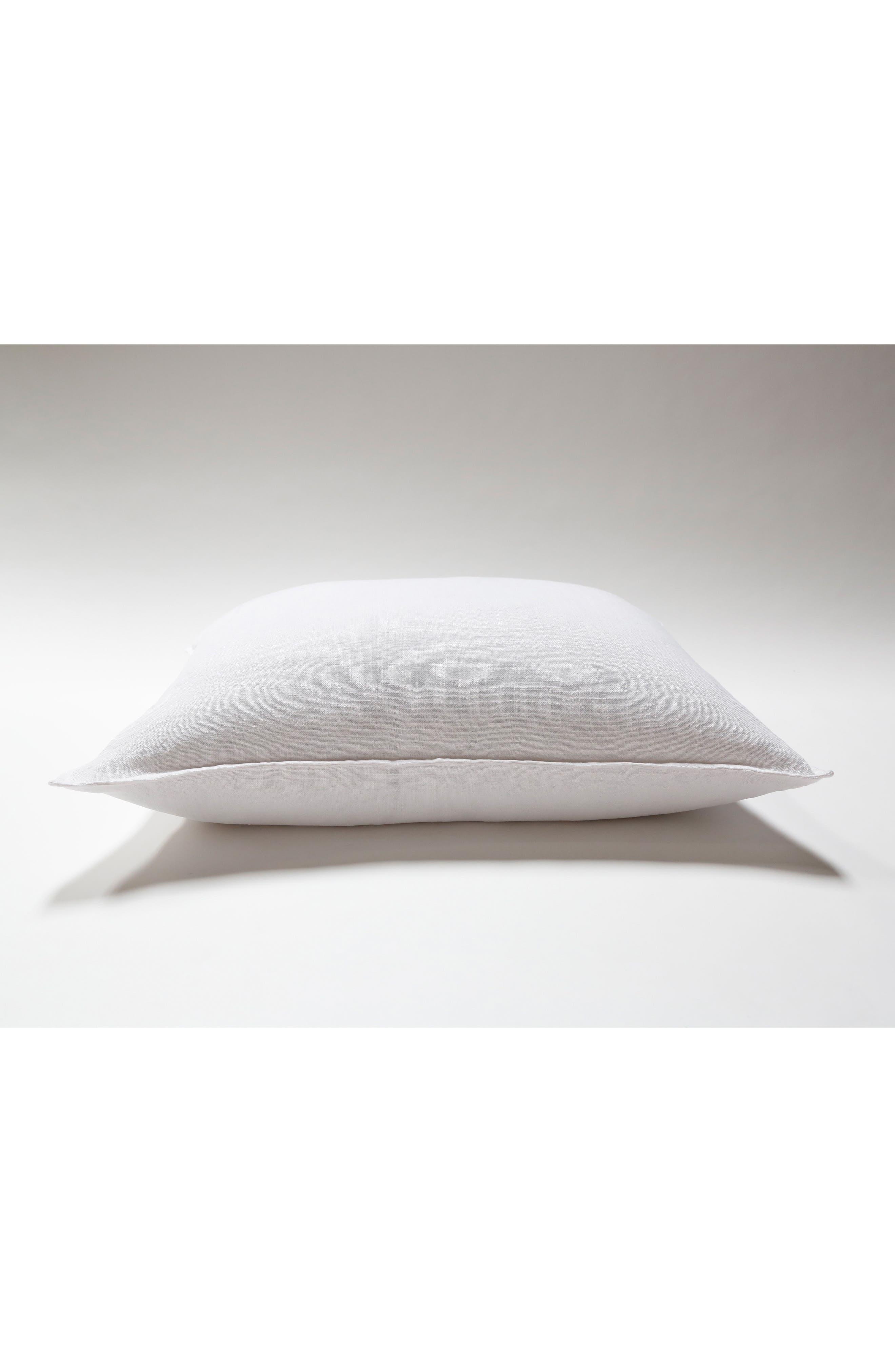 Montauk Big Accent Pillow,                         Main,                         color, WHITE