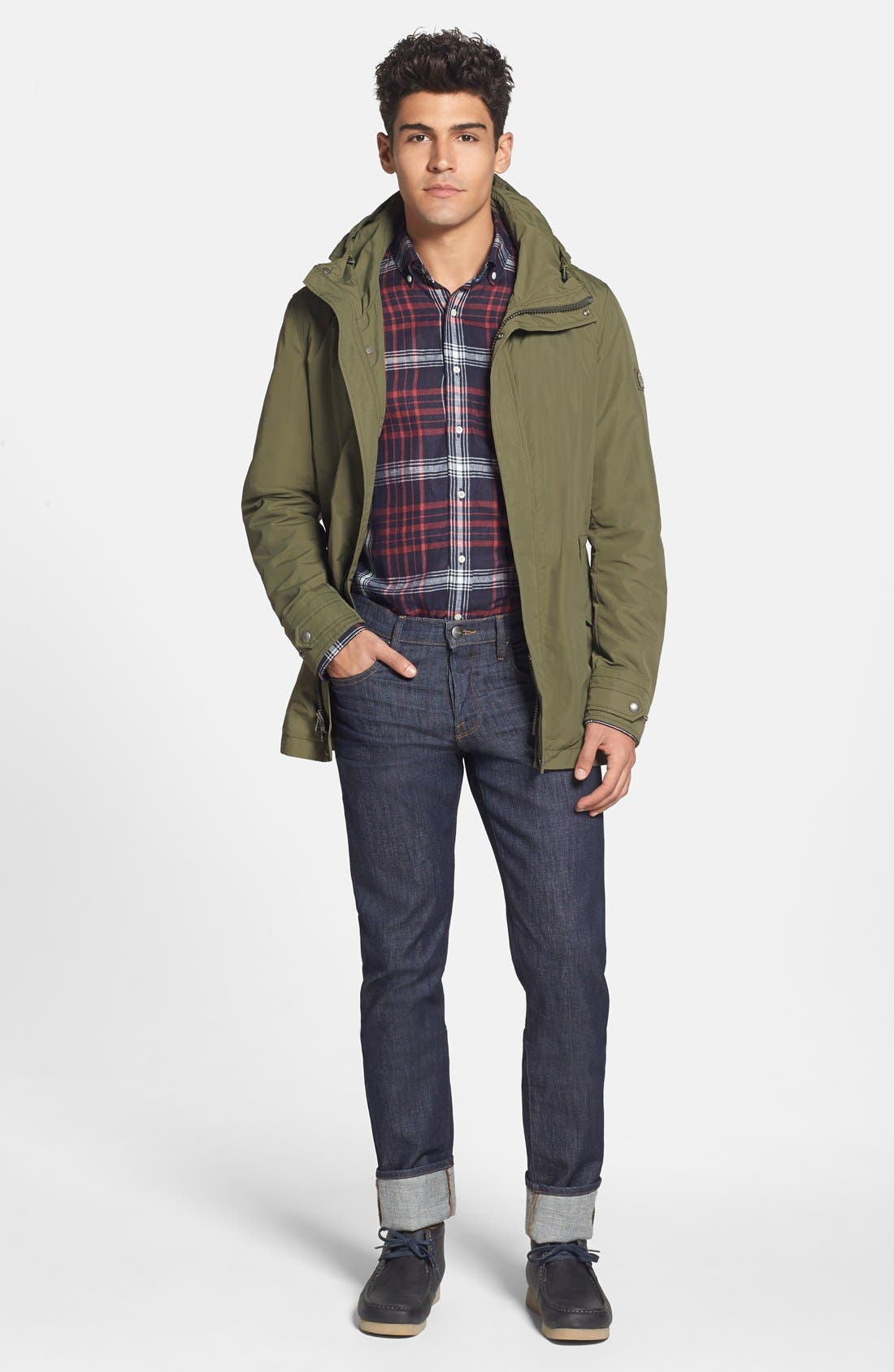 Woolrich Military Anorak,                             Alternate thumbnail 4, color,                             337