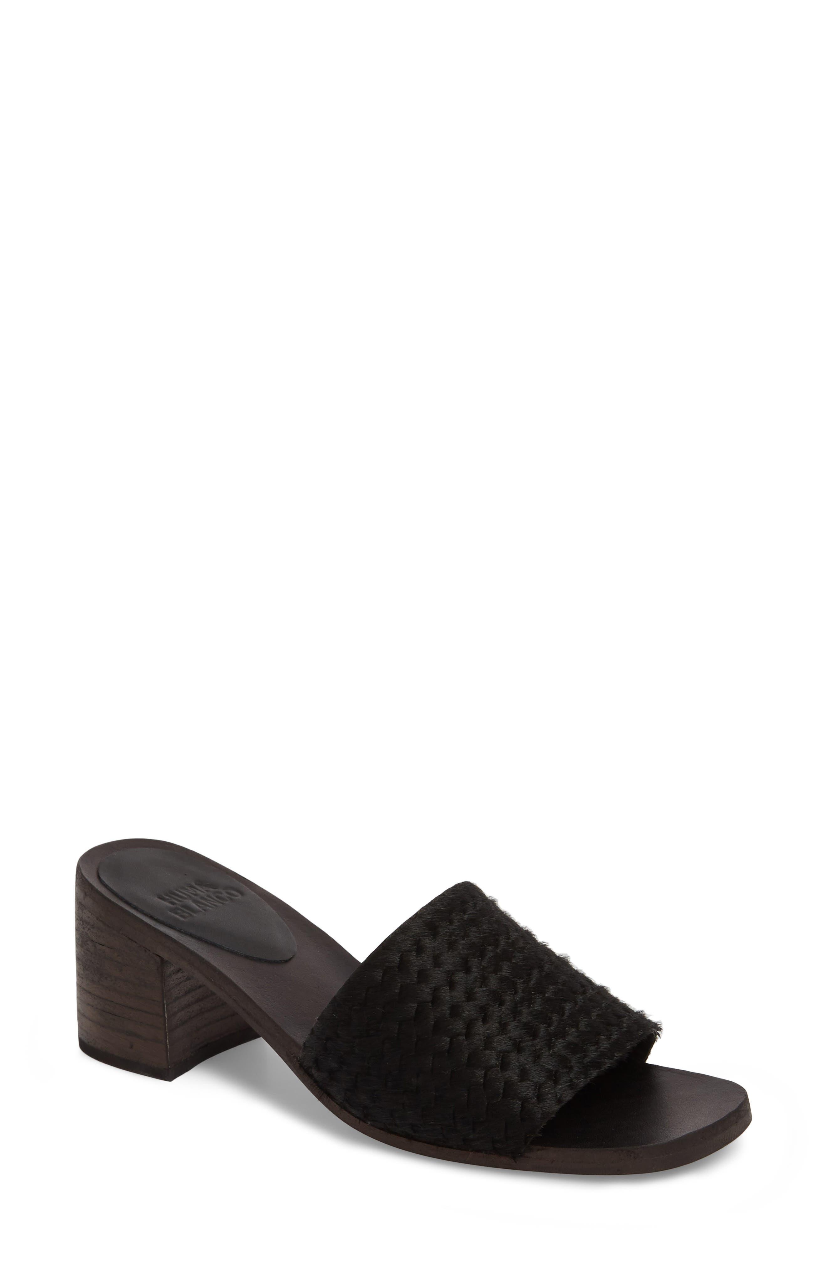 Huma Blanco Genuine Calf Hair Sandal