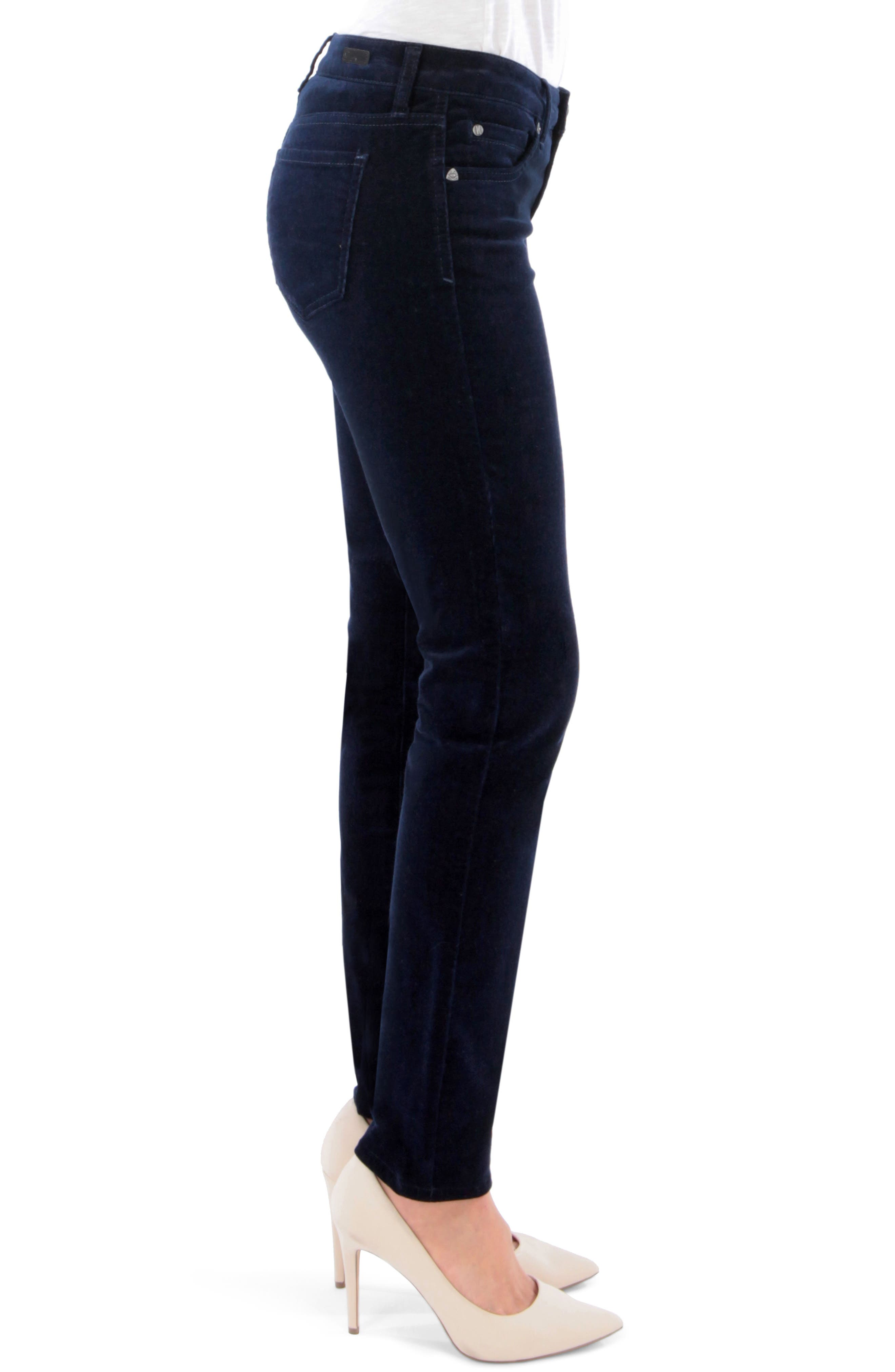 'Diana' Stretch Corduroy Skinny Pants,                             Alternate thumbnail 117, color,