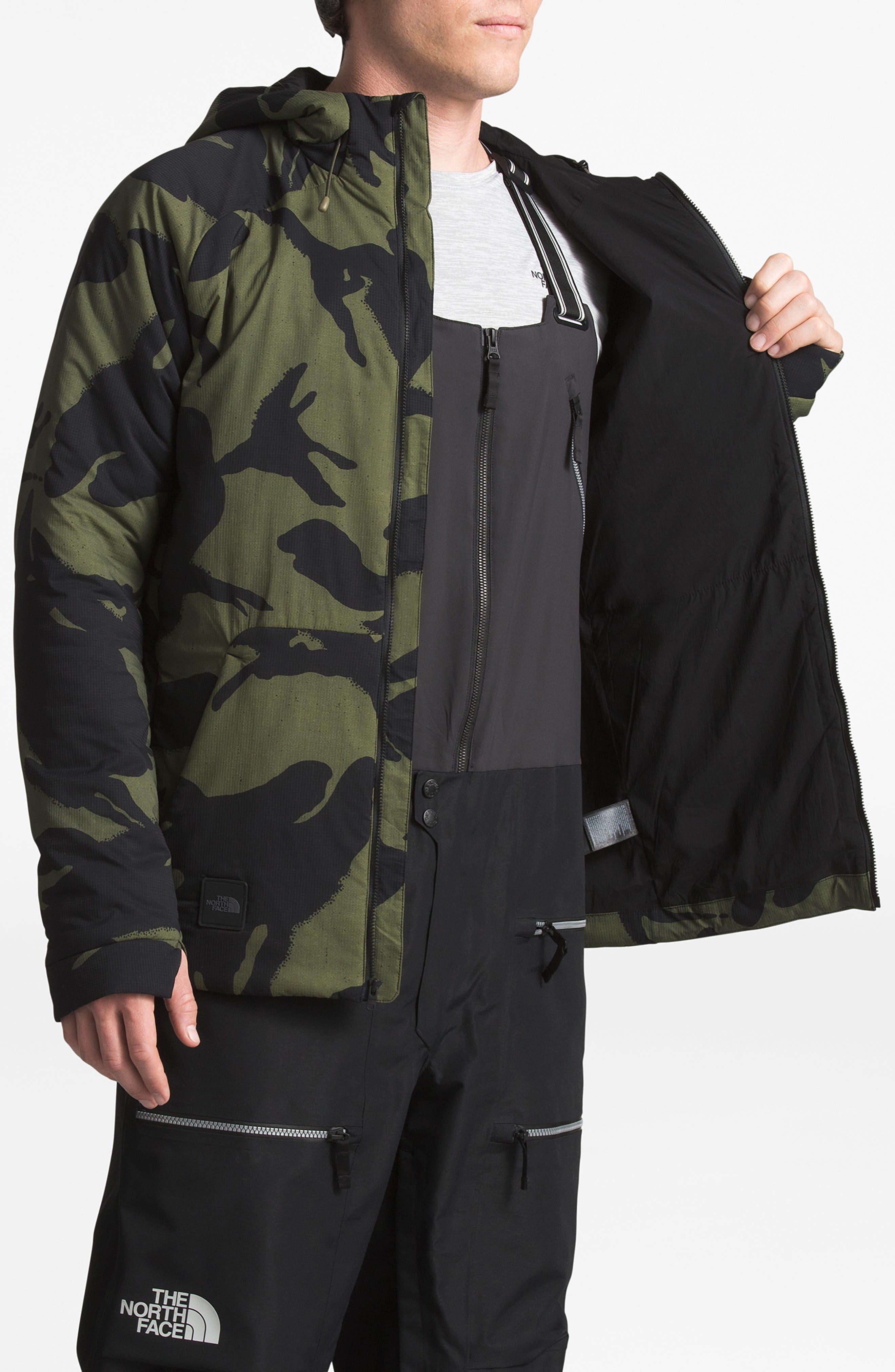 Lodgefather Ventrix<sup>™</sup> Ski Jacket,                             Alternate thumbnail 4, color,                             BURNT OLIVE GREEN DISRUPT