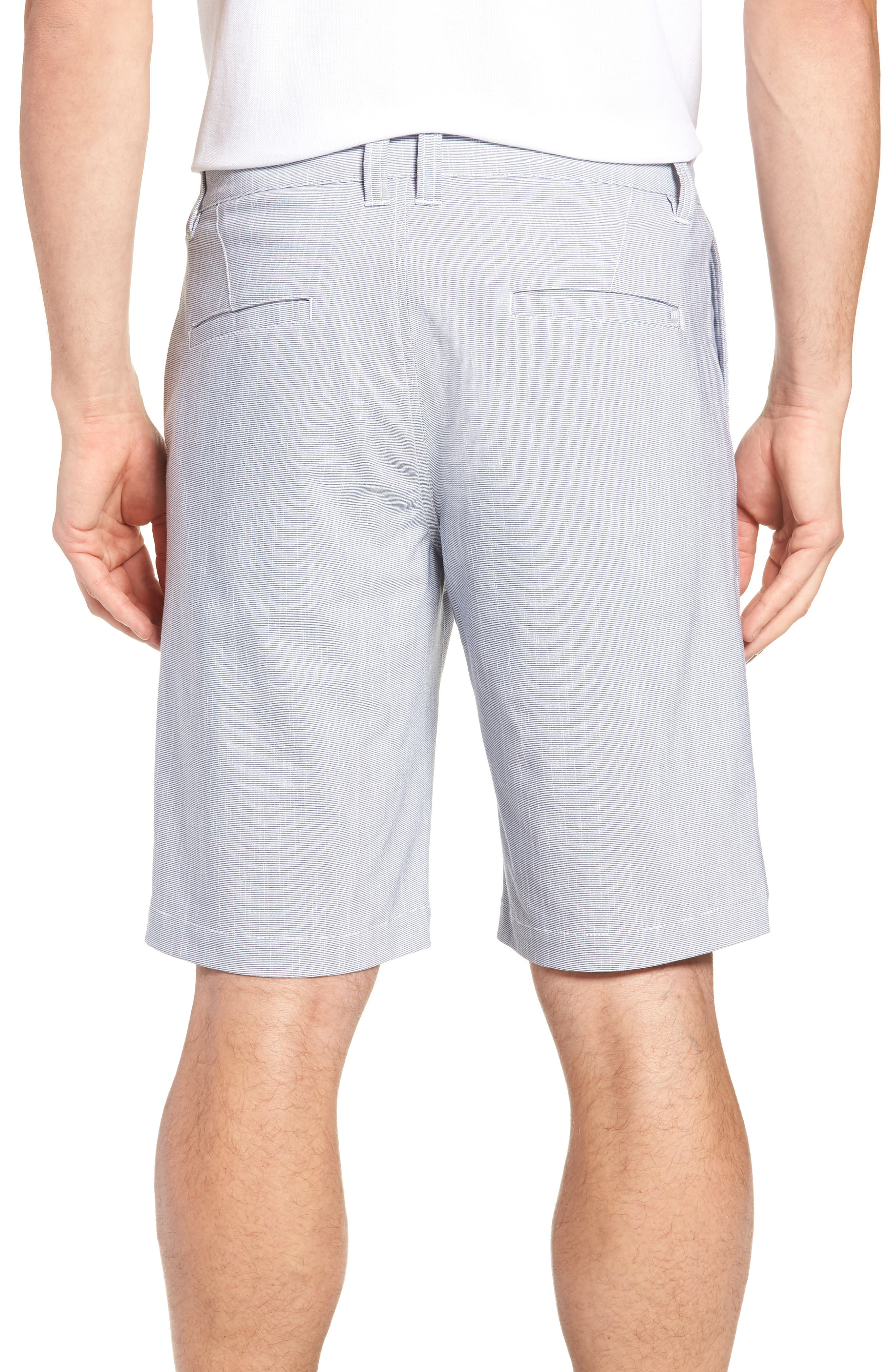 Keen Microcheck Shorts,                             Alternate thumbnail 2, color,                             HEATHER BLUE NIGHTS