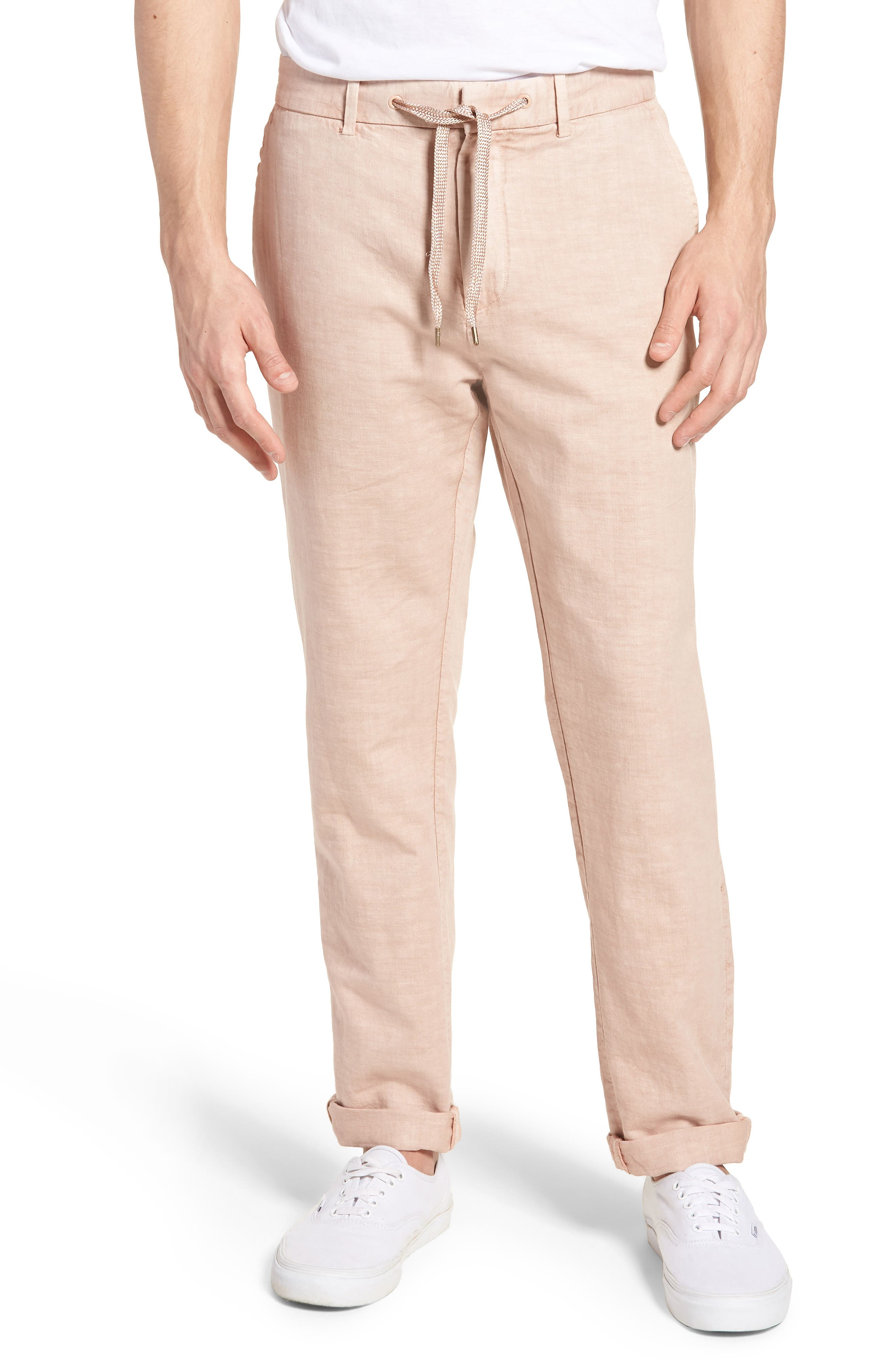 Linen Beach Pants,                             Main thumbnail 3, color,