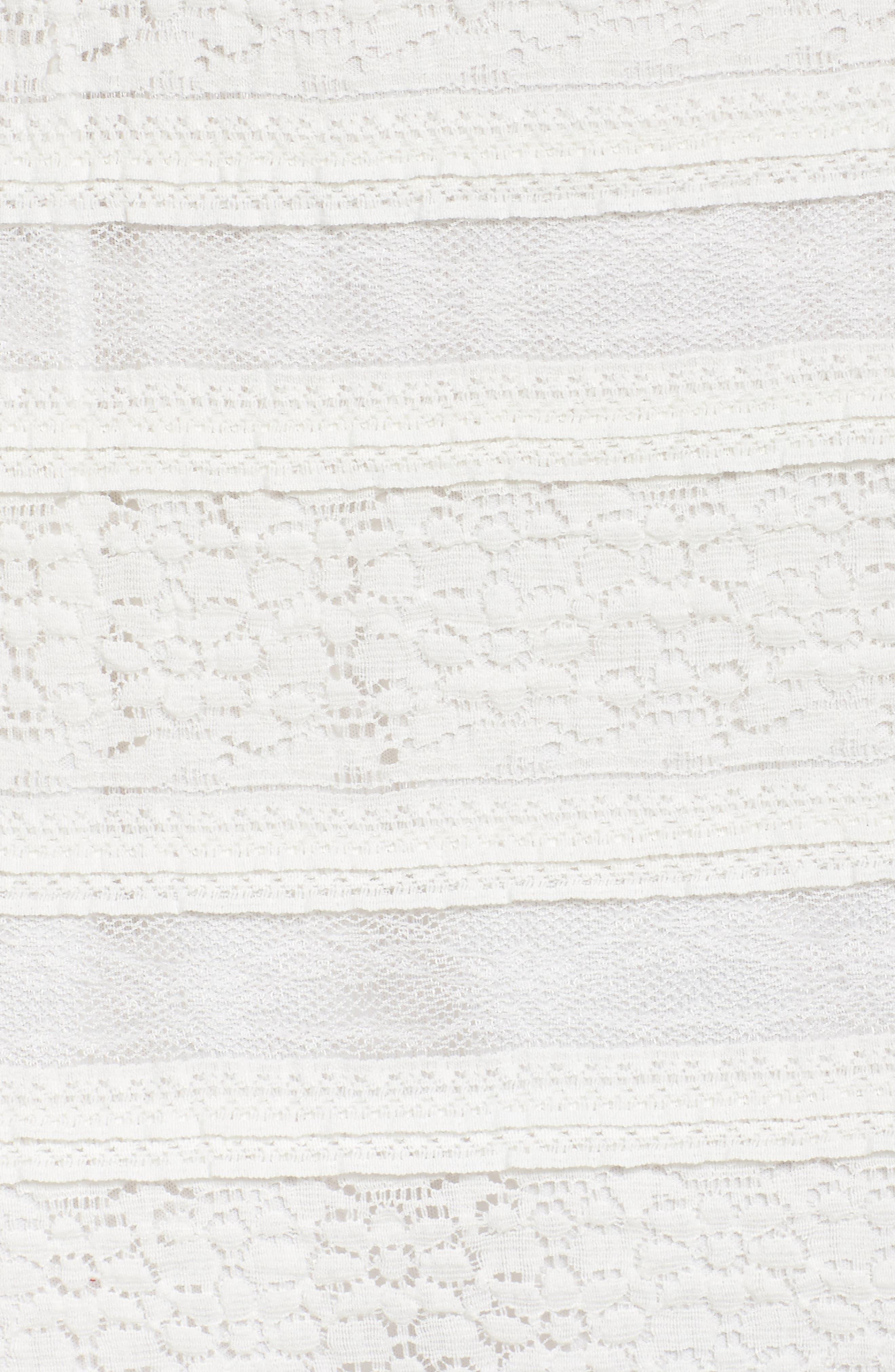 Makayla Peplum Lace Maxi Dress,                             Alternate thumbnail 5, color,                             901