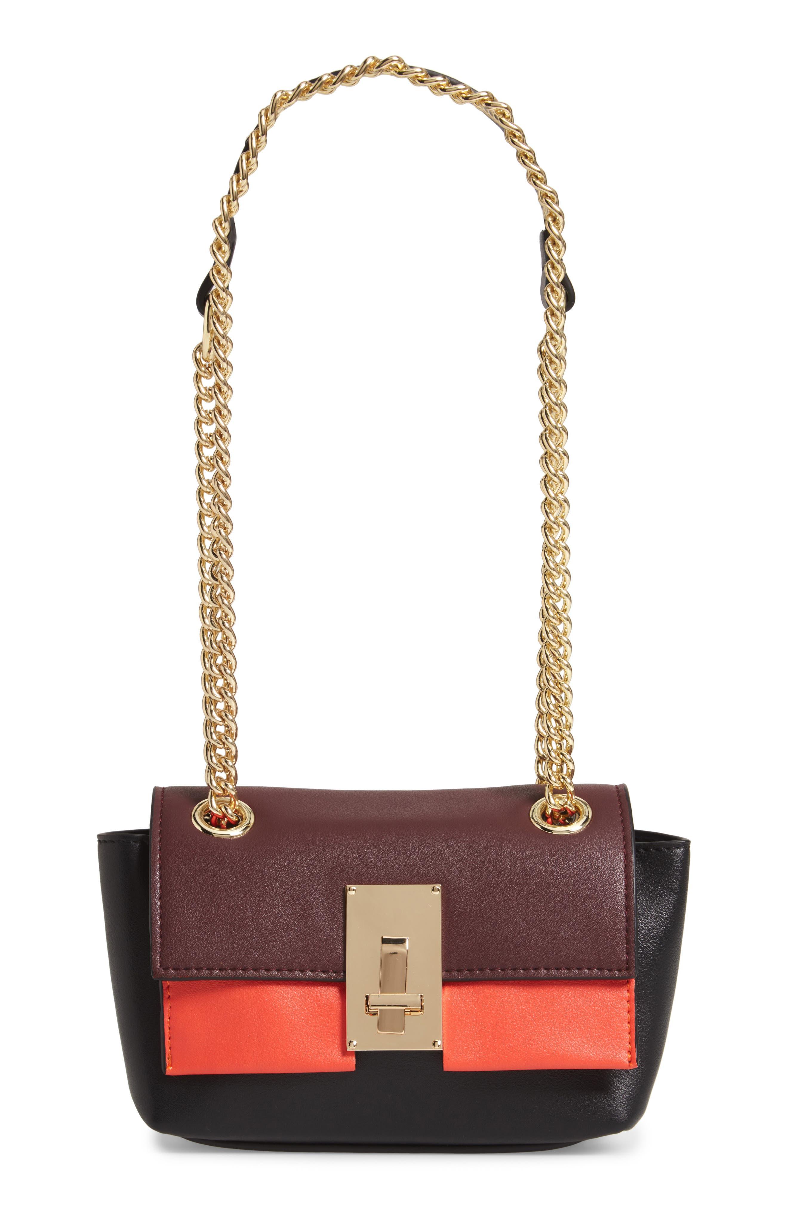 SONDRA ROBERTS Colorblock Handbag - None in Multi Combo