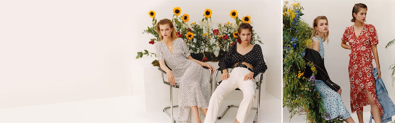 Topshop's style season: printed dresses, boho tops and other fresh summer looks.