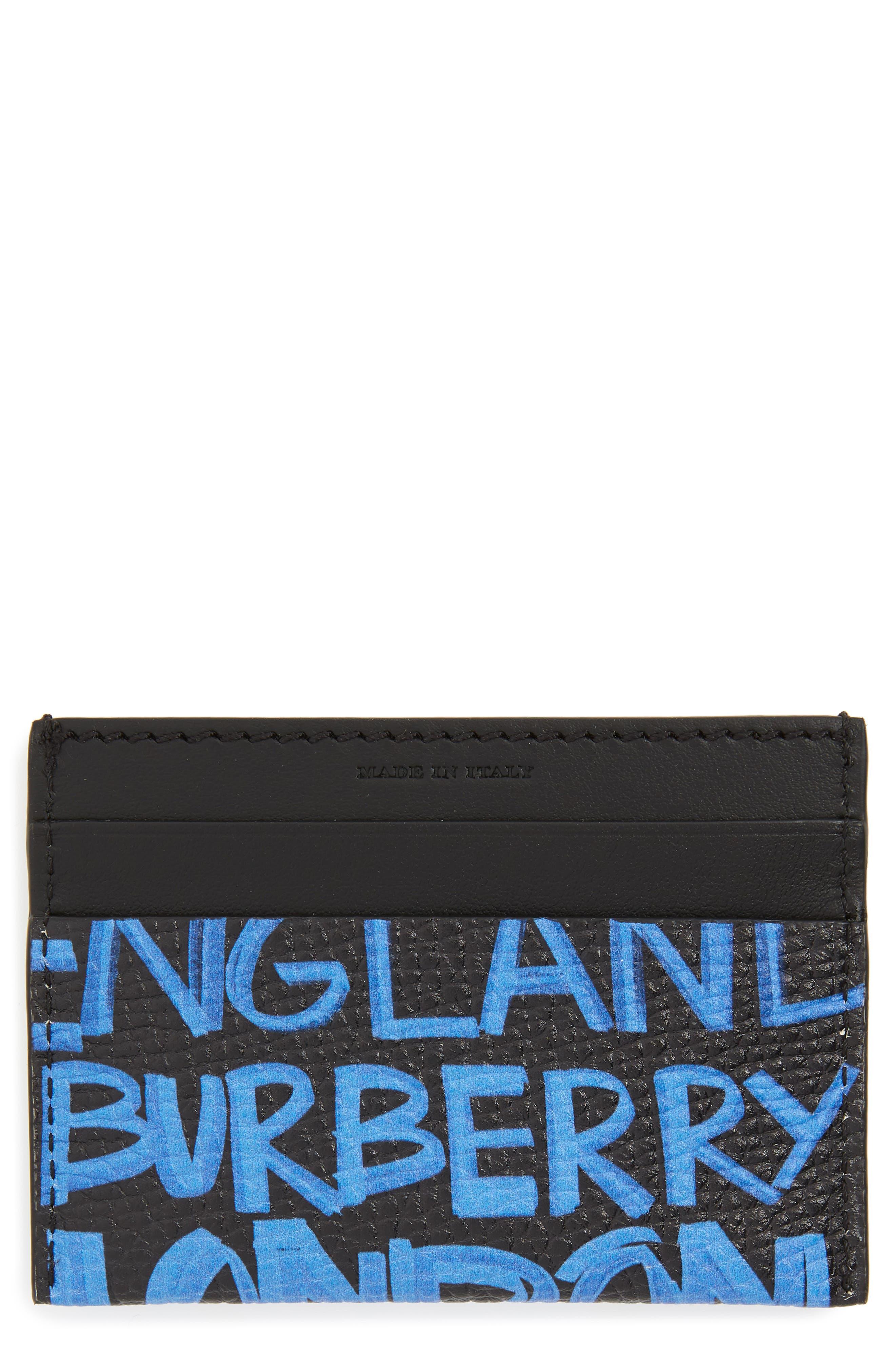 Sandon Leather Card Case,                         Main,                         color, 464