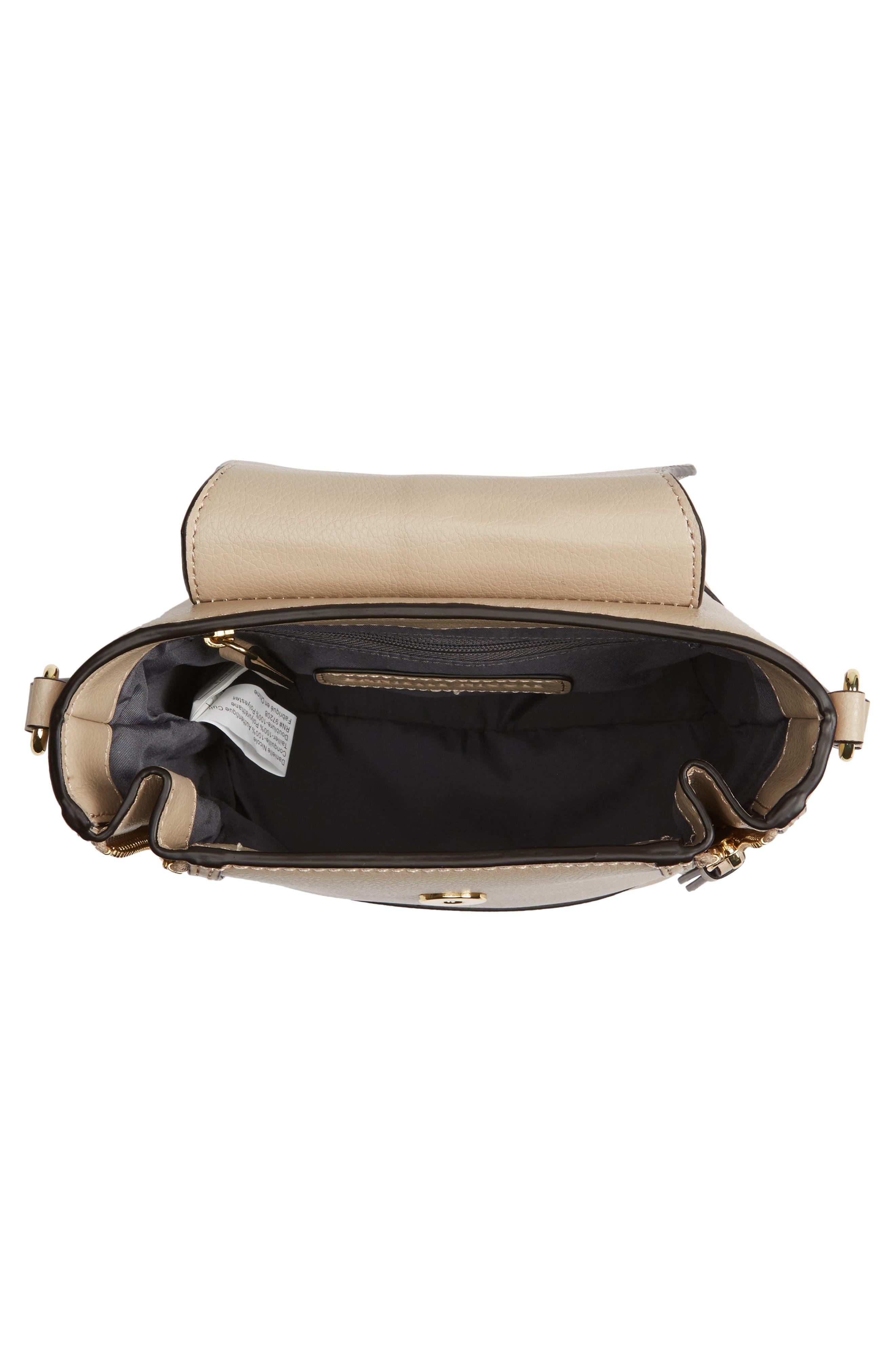 Beckett Leather Crossbody Bag,                             Alternate thumbnail 4, color,                             250