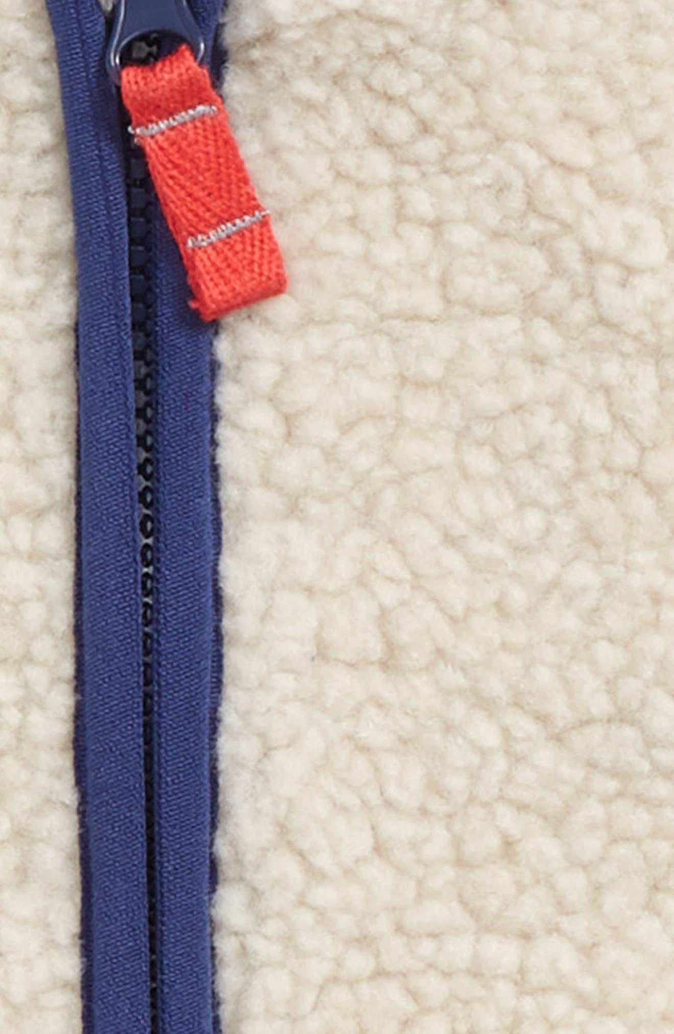Cosy Borg Fleece Vest,                             Alternate thumbnail 2, color,                             251