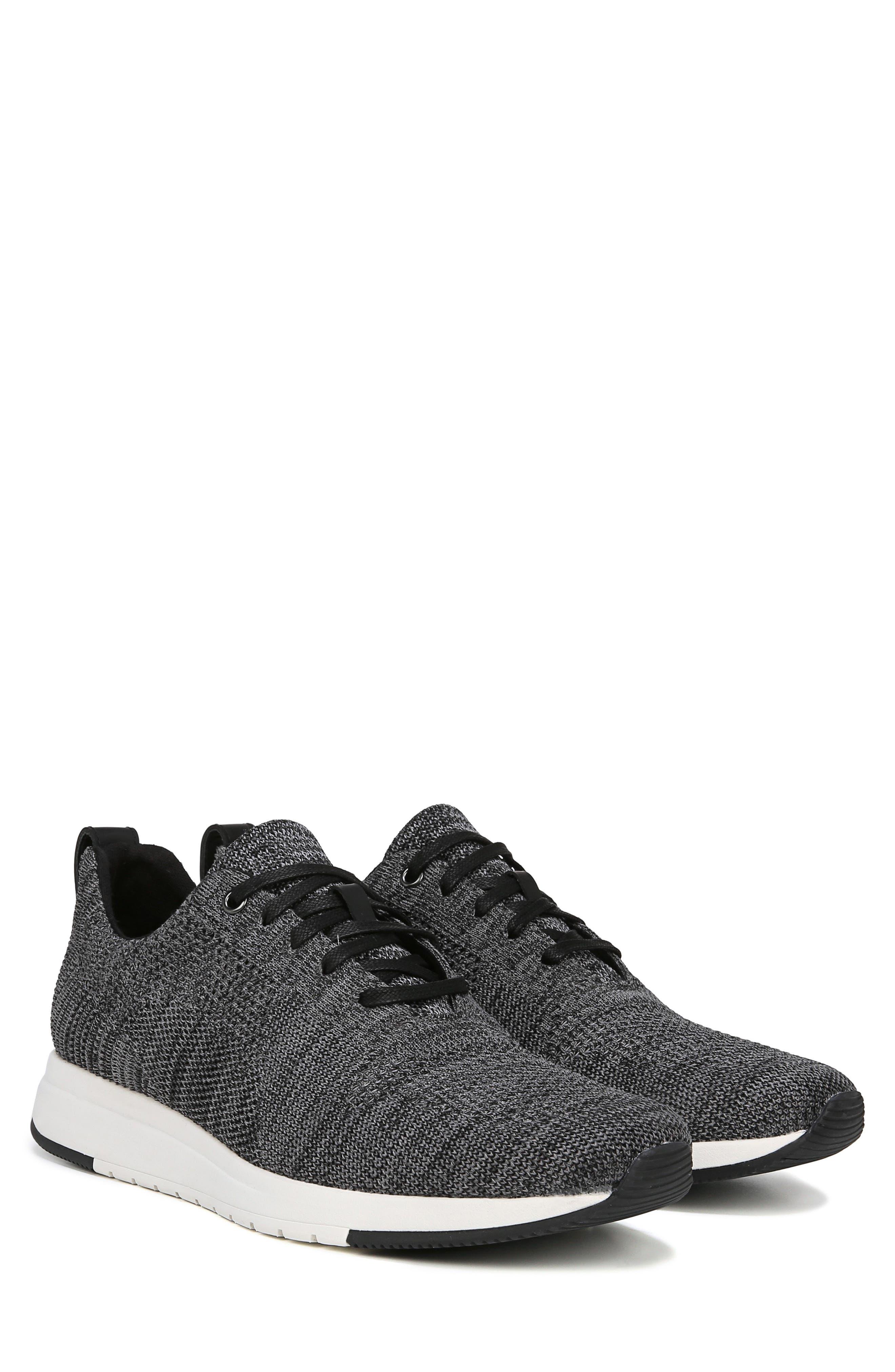 Palo Knit Sneaker,                             Alternate thumbnail 9, color,                             MARL GREY/ BLACK