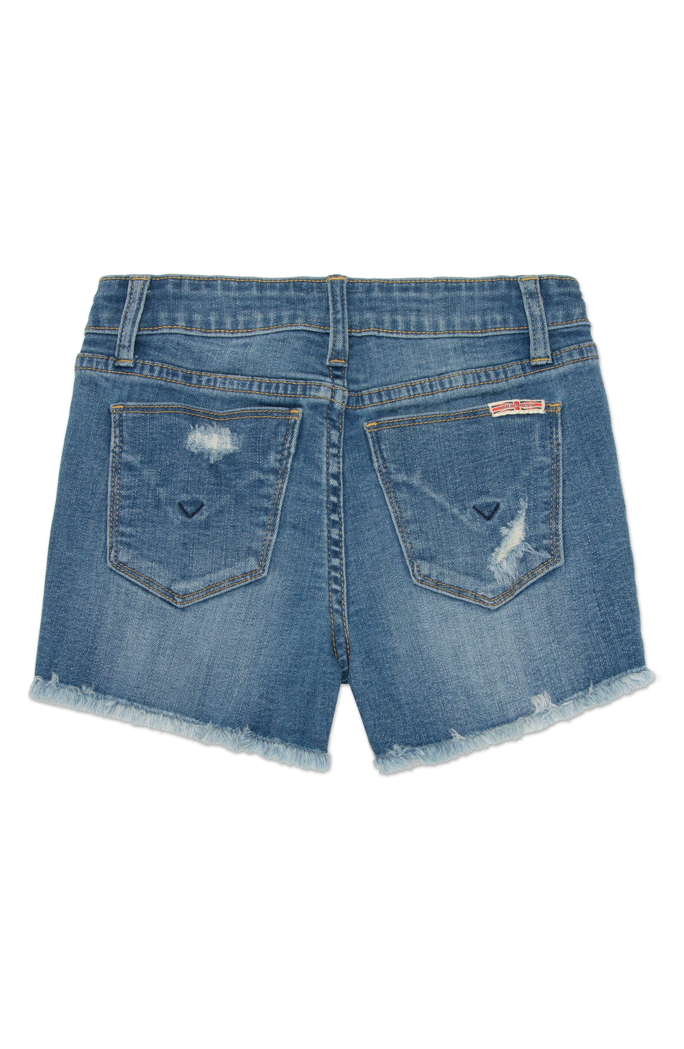 Frayed Shorts,                             Alternate thumbnail 2, color,                             498