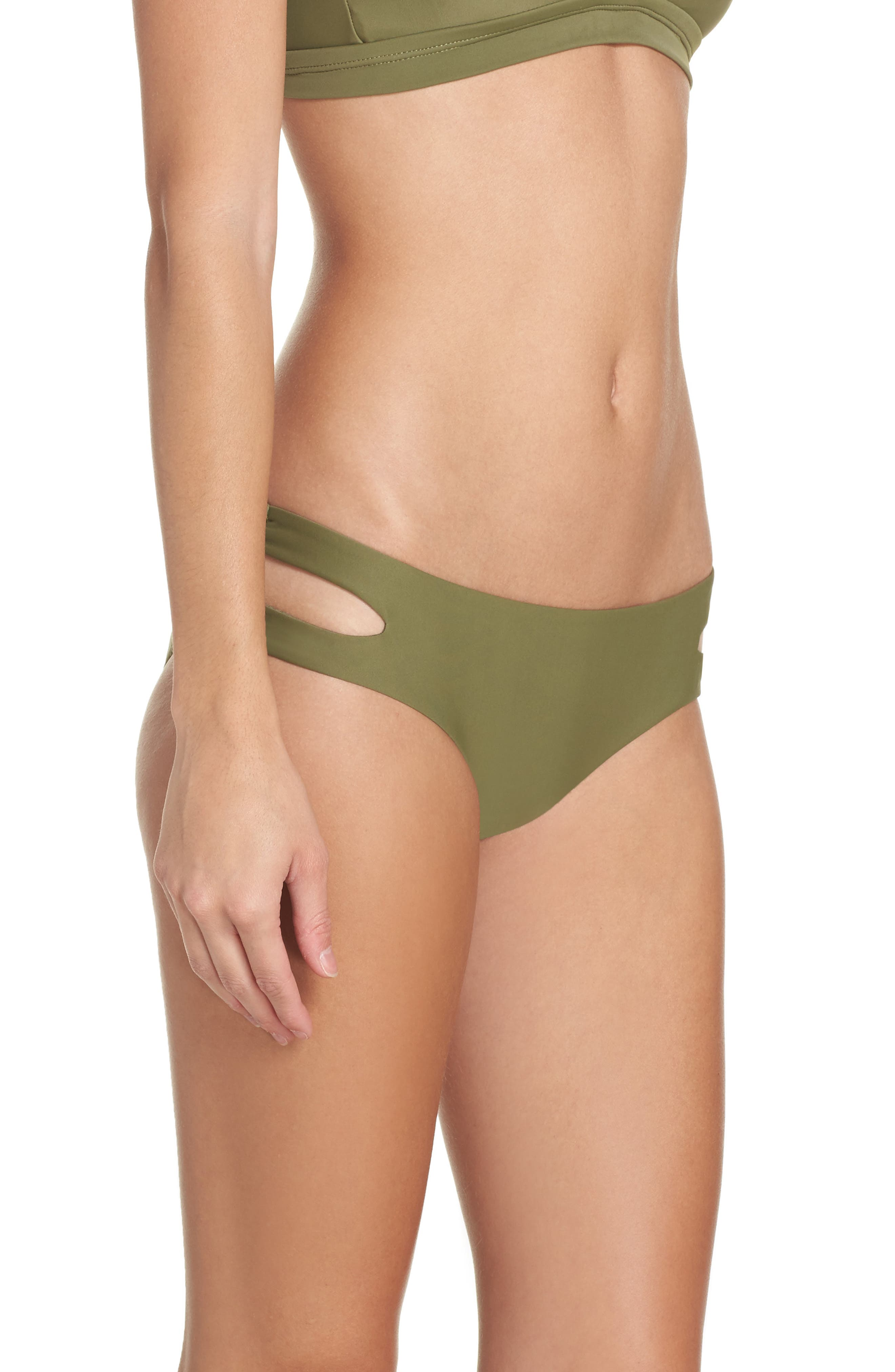 Cutout Hipster Bikini Bottoms,                             Alternate thumbnail 5, color,