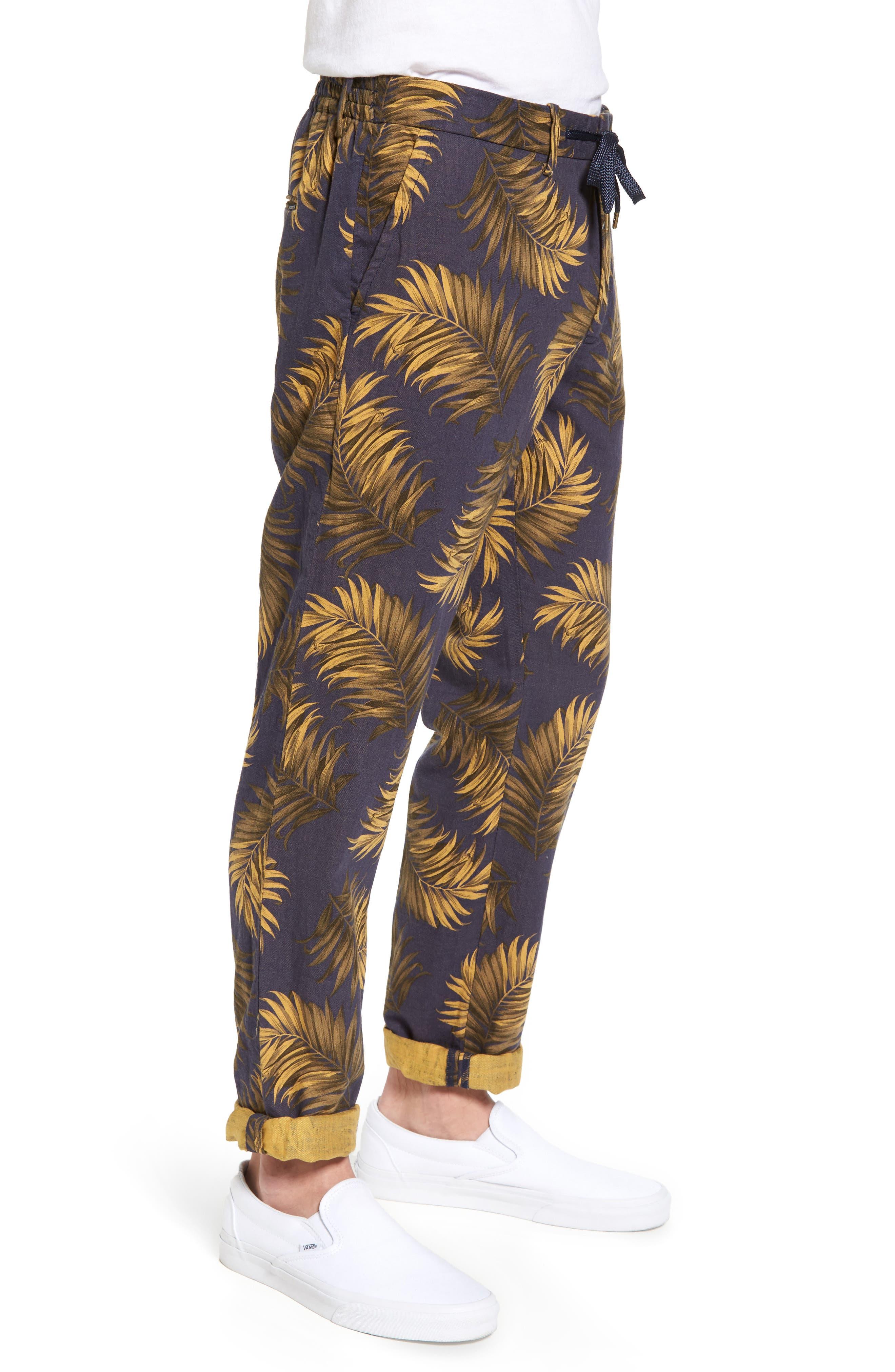 Linen Beach Pants,                             Alternate thumbnail 3, color,                             200