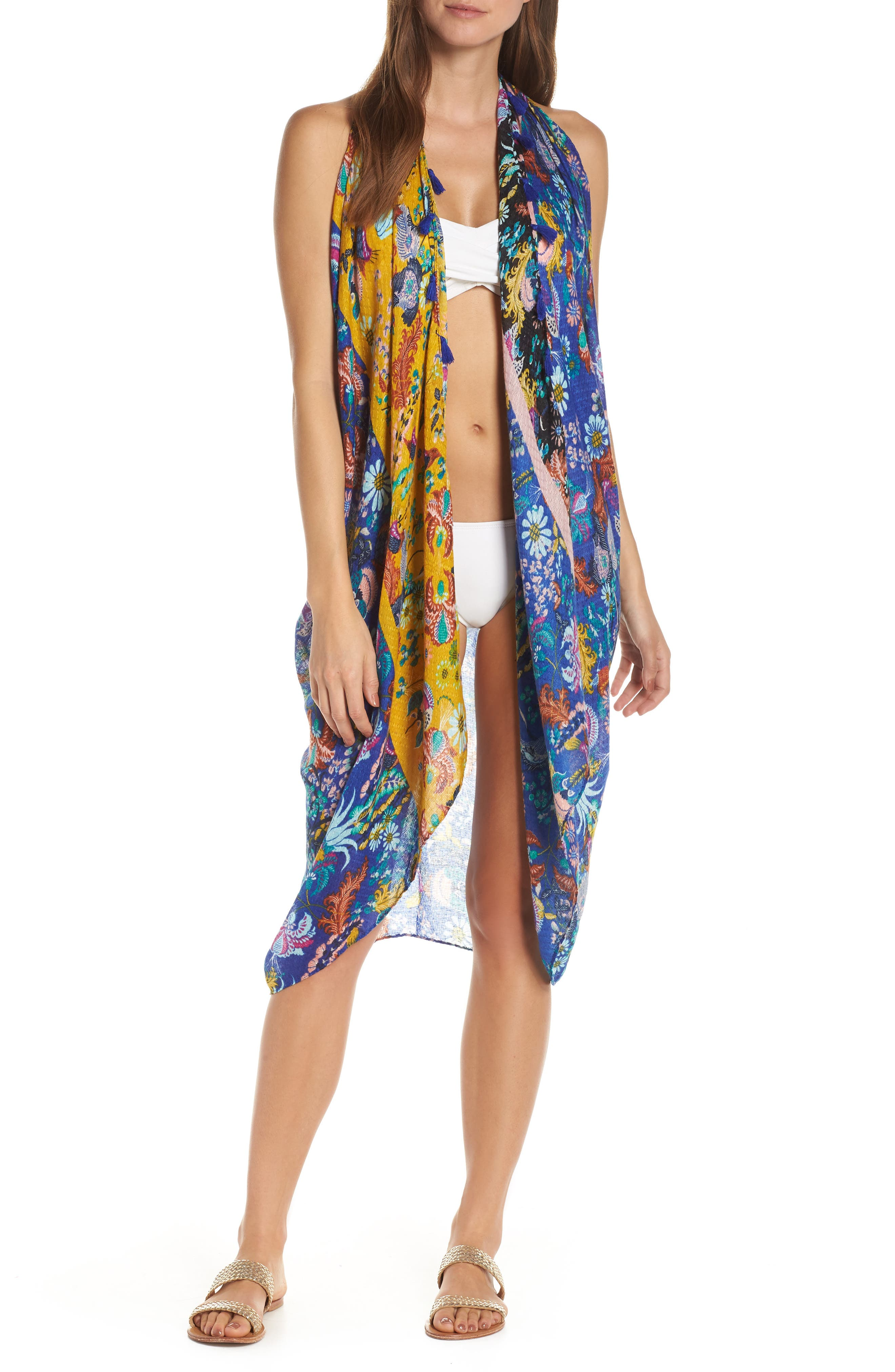 Pool To Party Spirit Cover-Up Vest