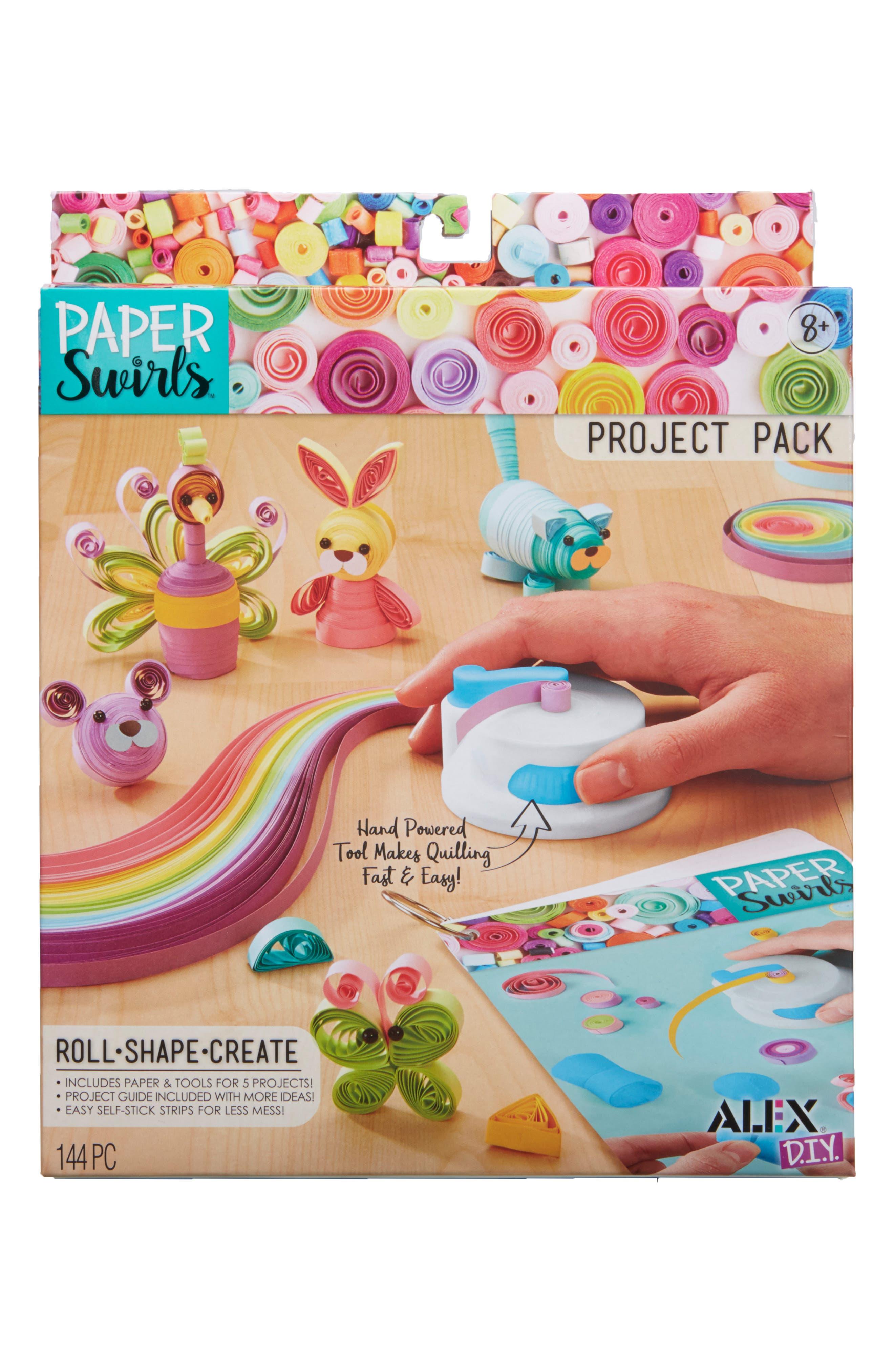 Alex Toys Diy Paper Swirls Project Pack