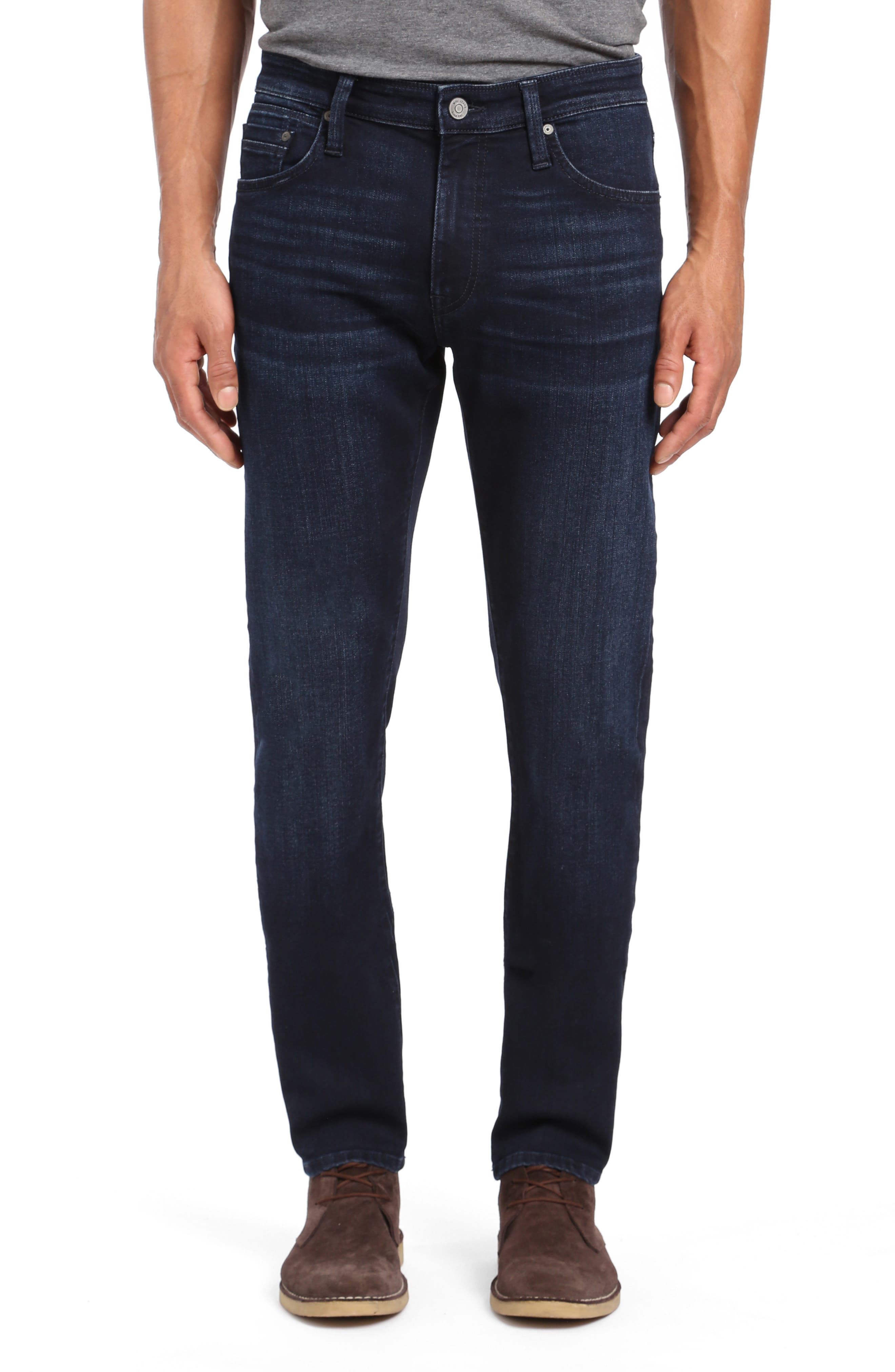 Jake Skinny Fit Jeans,                         Main,                         color, INK FOGGY WILLIAMSBURG