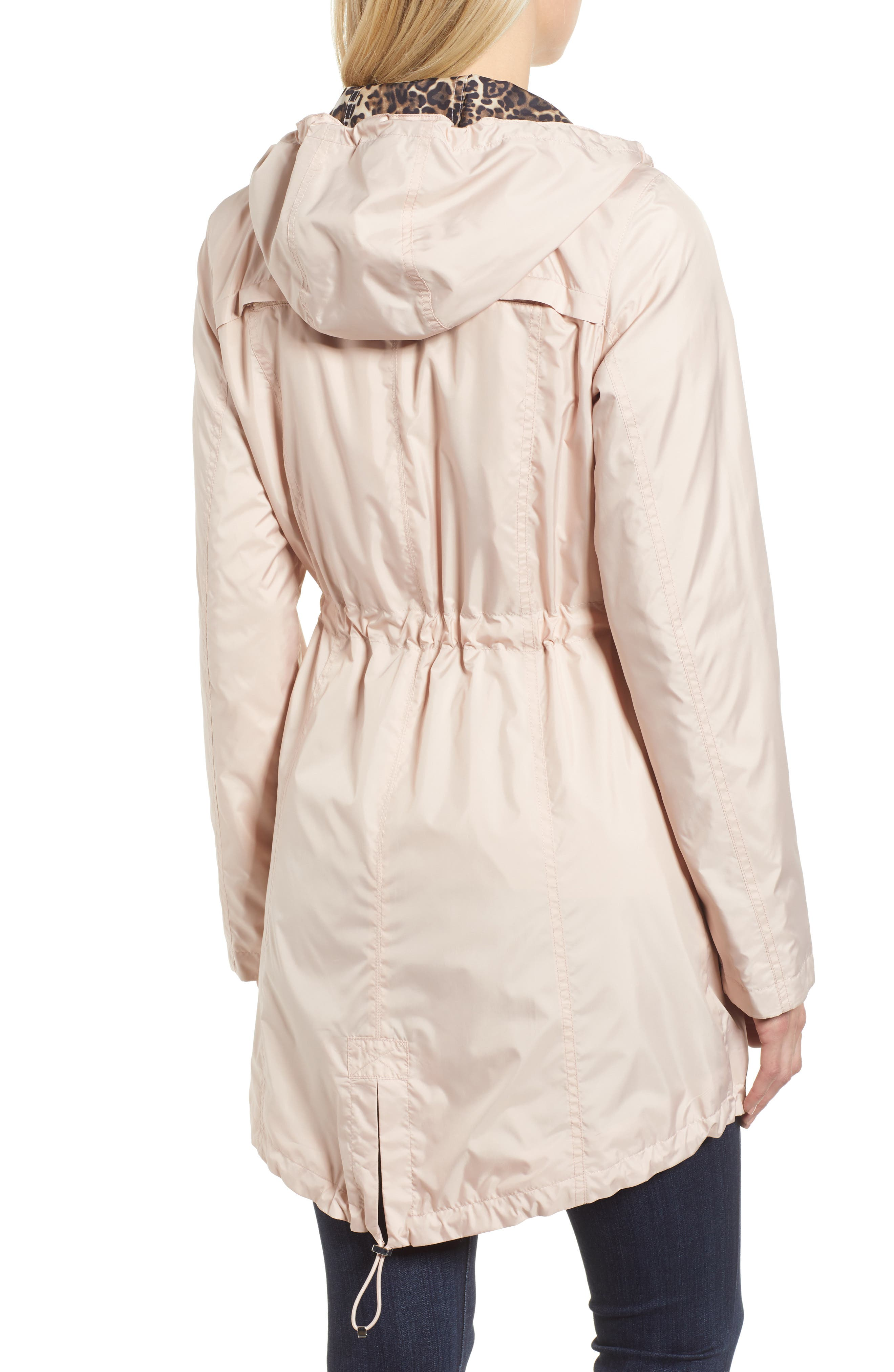 Packable Hooded Anorak,                             Alternate thumbnail 4, color,