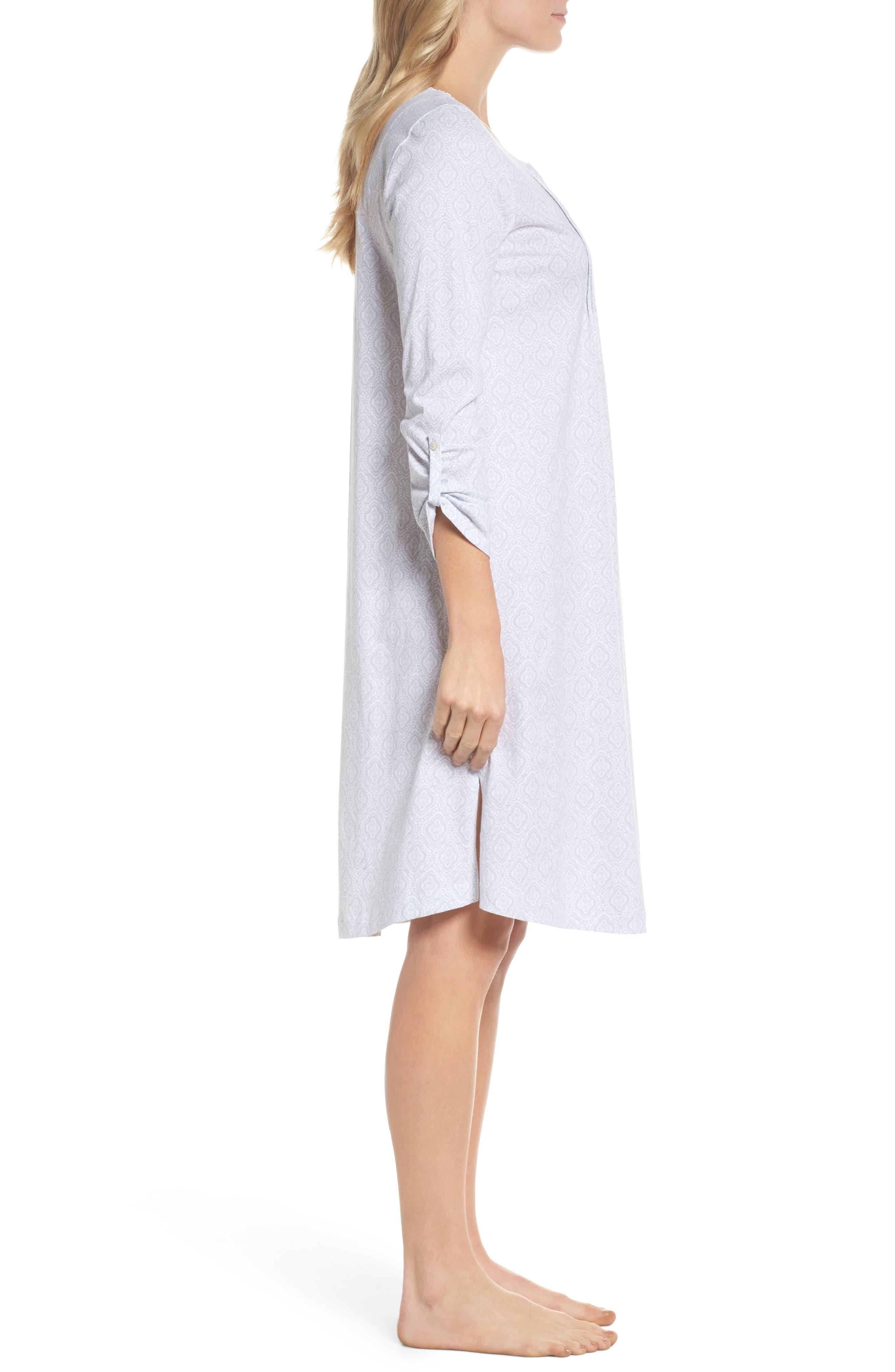 Cotton Jersey Waltz Nightgown,                             Alternate thumbnail 3, color,