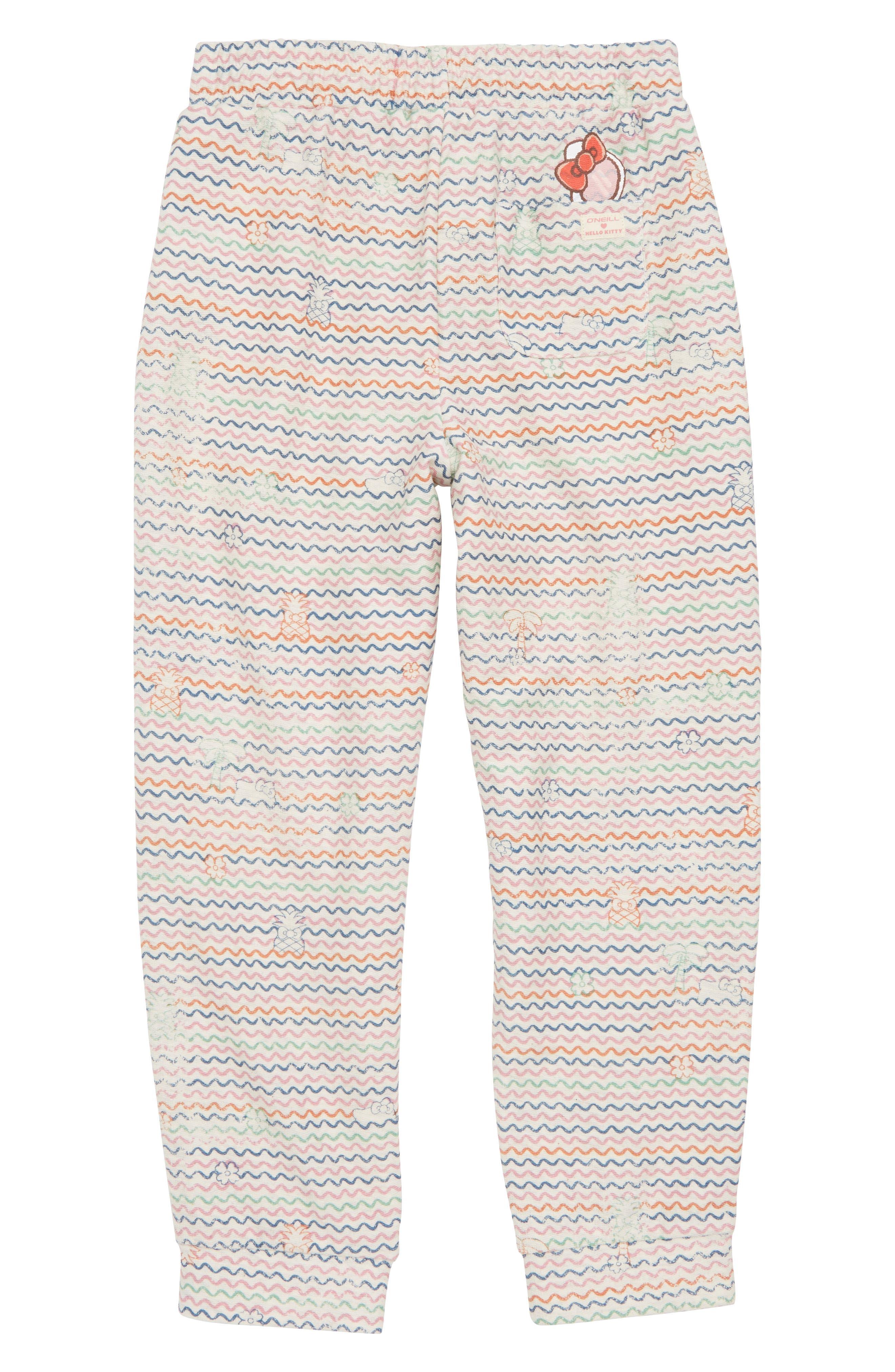 x Hello Kitty<sup>®</sup> Tropical Treasures Fleece Pants,                             Alternate thumbnail 4, color,                             250