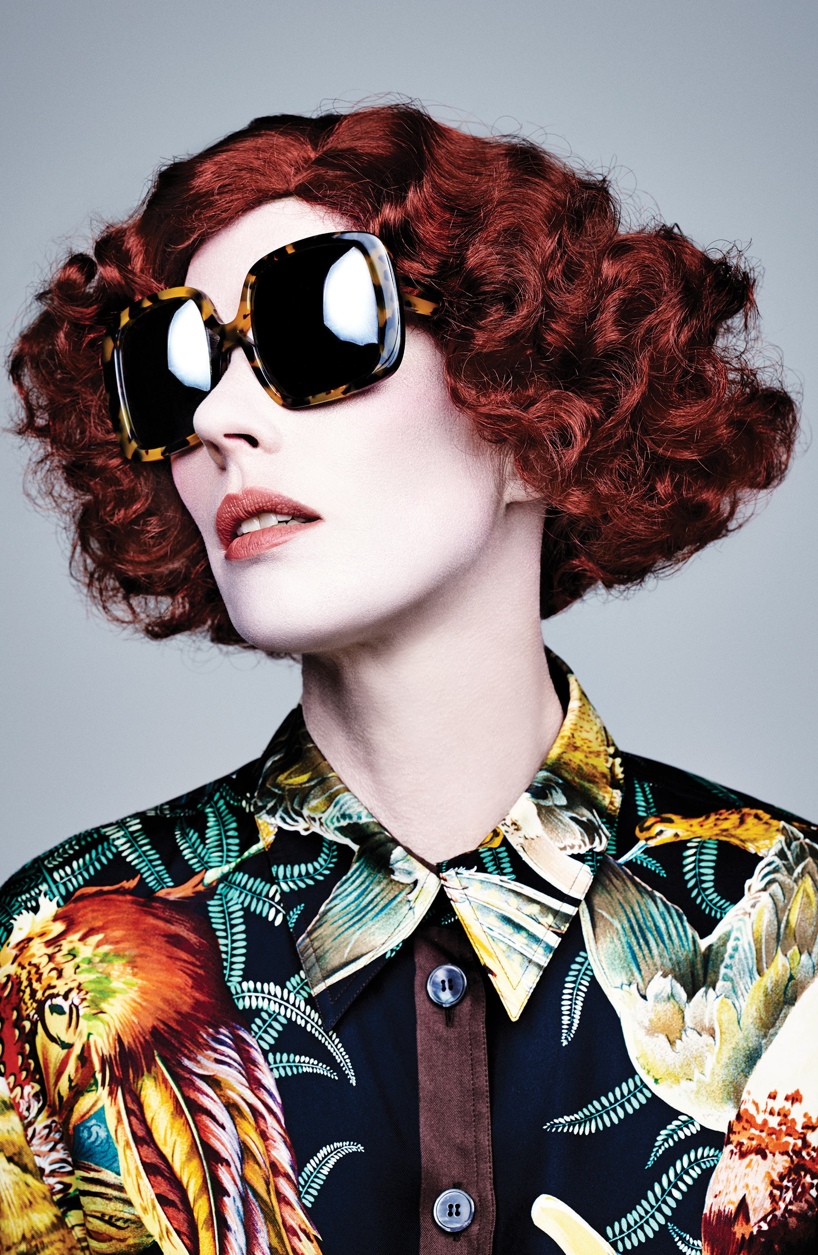 Marques 55mm Square Sunglasses,                             Alternate thumbnail 3, color,                             040