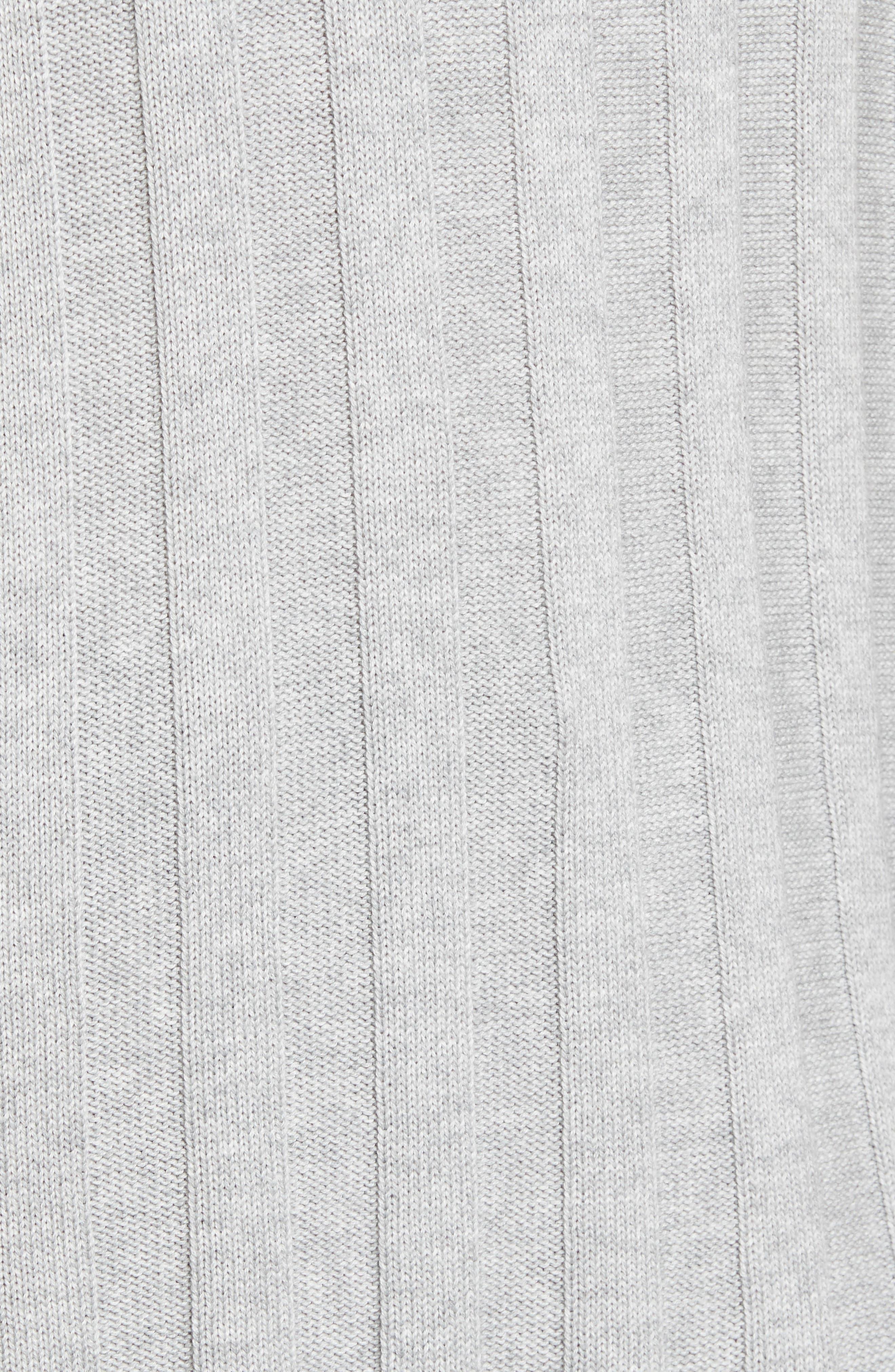 Fringe Cowl Neck Sweater,                             Alternate thumbnail 14, color,