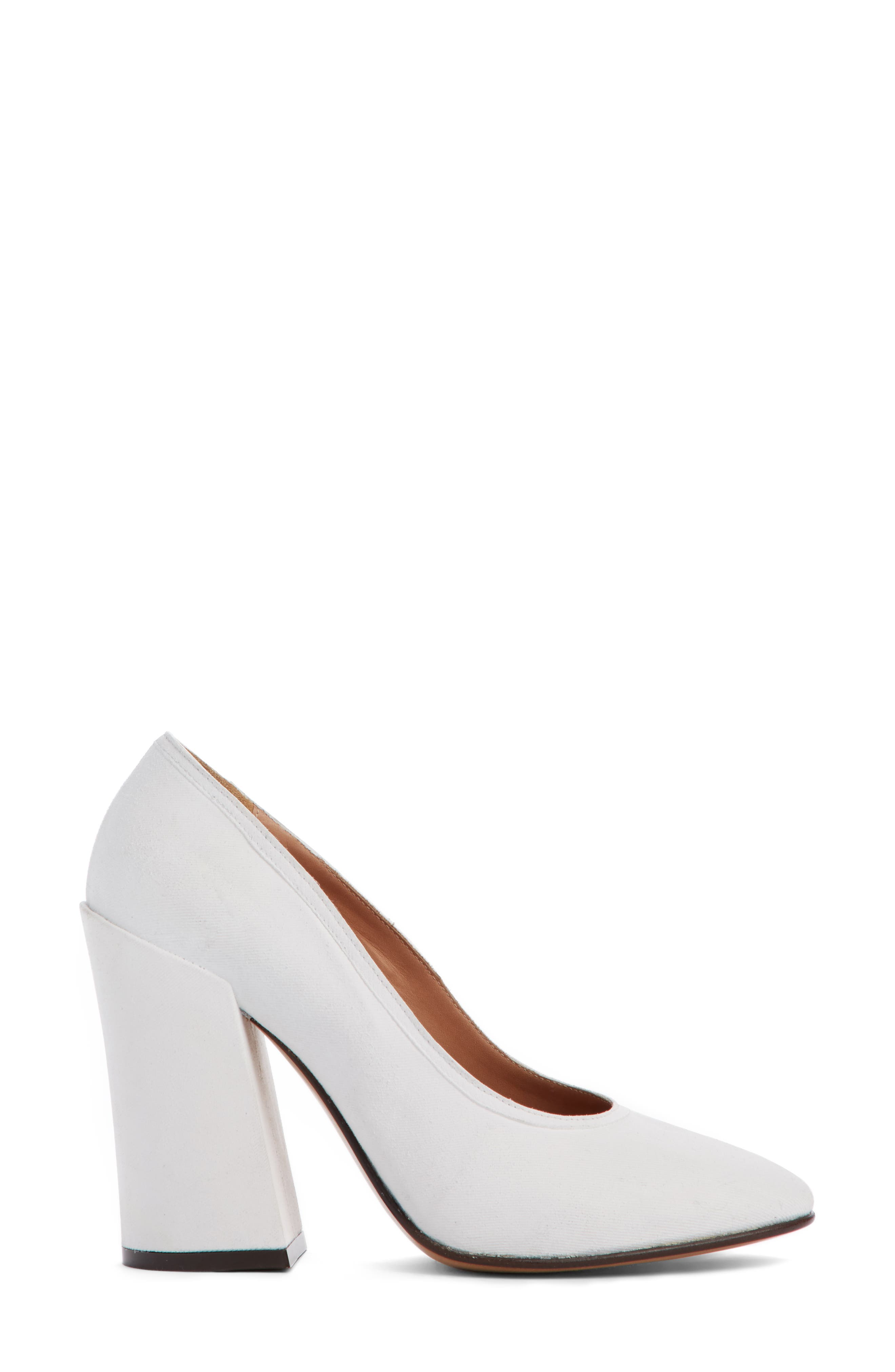 Pointed Toe Pump,                             Alternate thumbnail 3, color,                             100