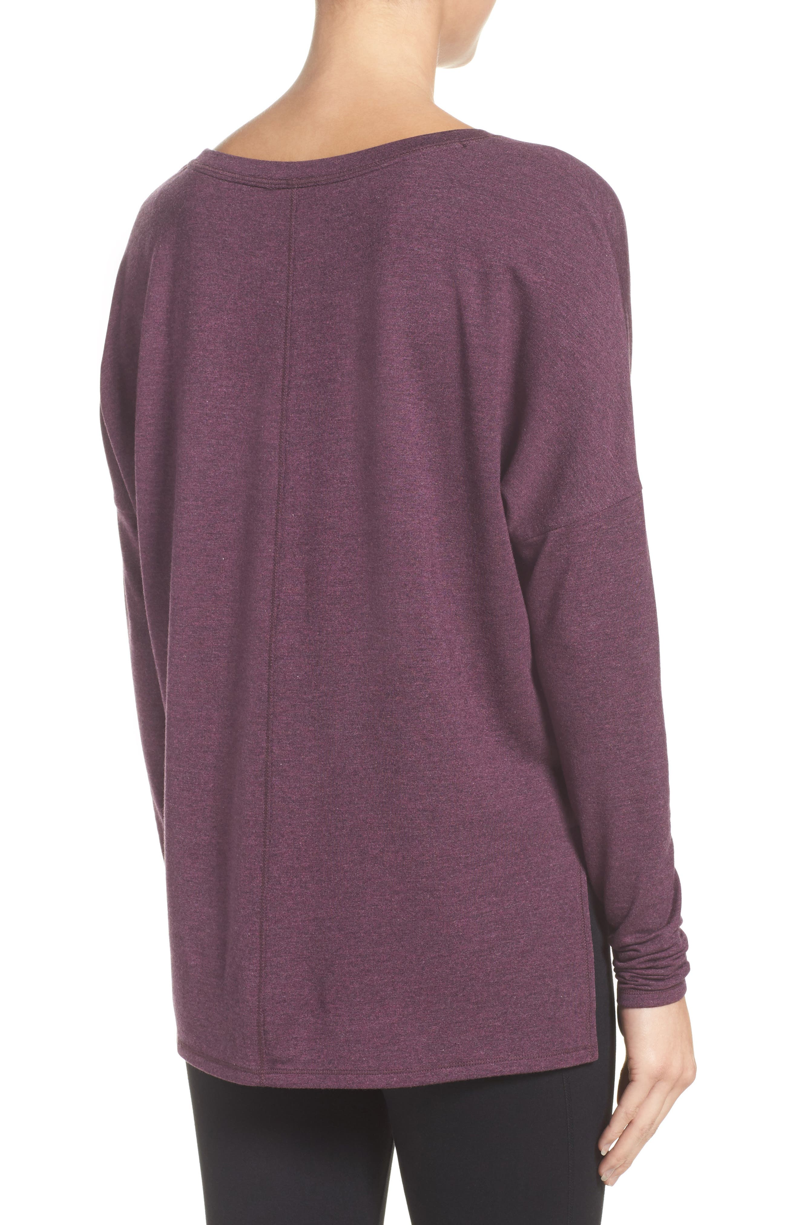 She's Cute Terry Pullover,                             Alternate thumbnail 9, color,