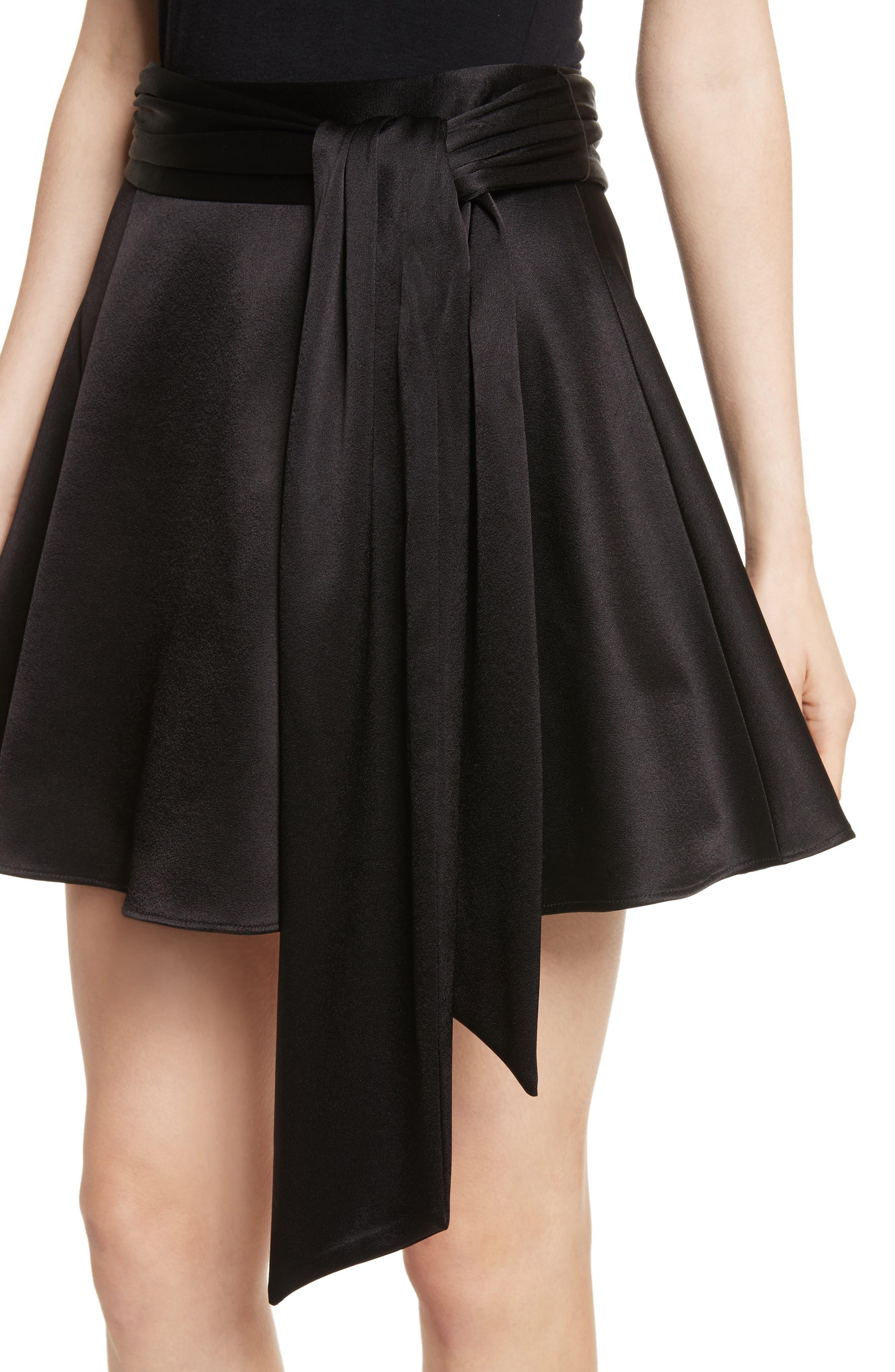 Helina Miniskirt,                             Alternate thumbnail 4, color,                             001